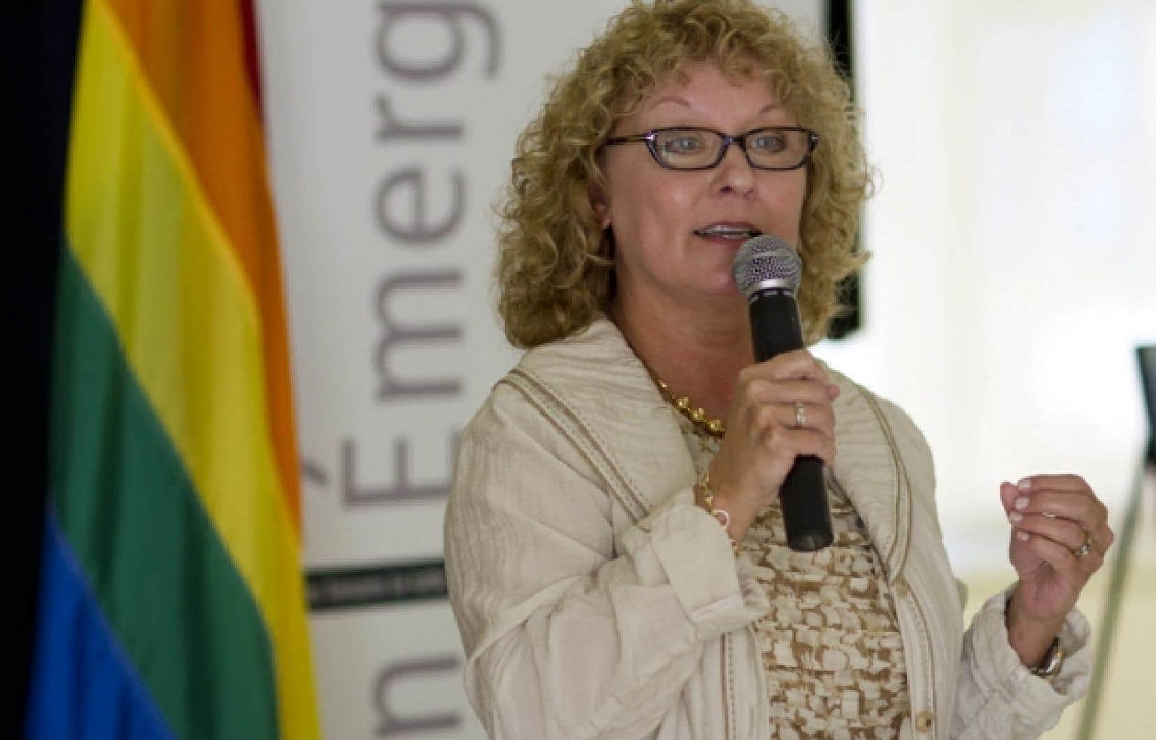La ministre de la Famille et des A&icirc;n&eacute;s, Marguerite Blais<br />