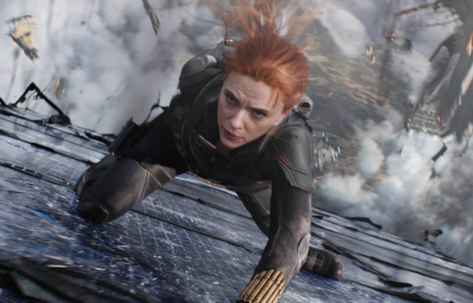 Scarlett Johansson dans le film «Black Widow»