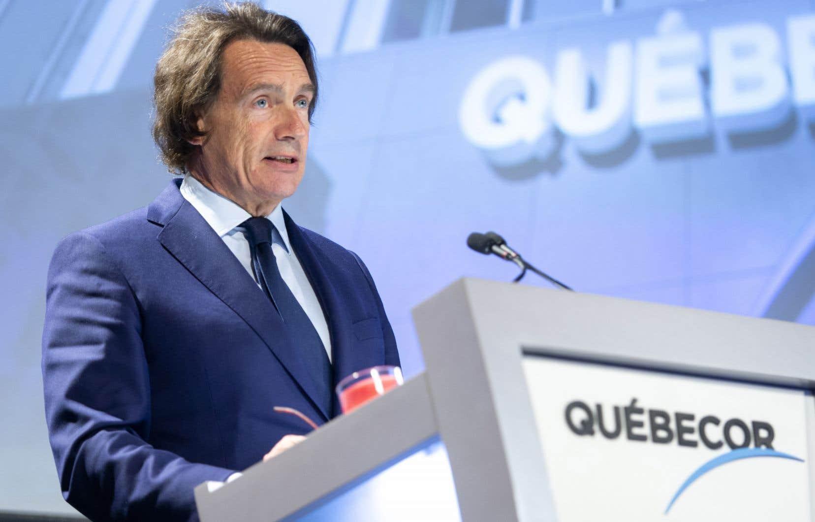 L'entreprise montréalaise propriétaire de Vidéotron a récolté 294 licences, plusieurs situées en Ontario, en Alberta et en Colombie-Britannique, ce qui lui a coûté 830millions $.
