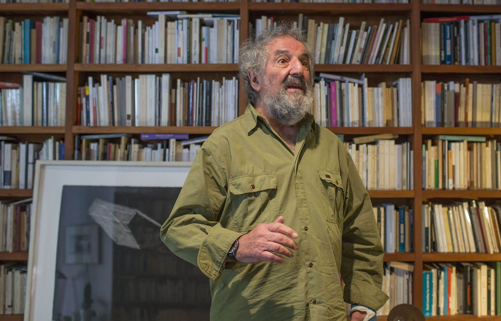 Cet activiste culturel sans le titre et auteur prolifique, qu'on se plaisait encore à lire dans chaque fascicule de la Fondation Molinari, tire sa révérence. Vraiment? Oui, assure-t-il. Mais pas tout à fait, tant il y a, chez Molinari, de quoi explorer.