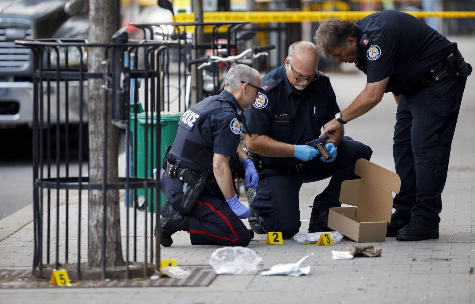 En 2019, 492 fusillades ont eu lieu dans les rues de la ville, le nombre le plus élevé en 15 ans.