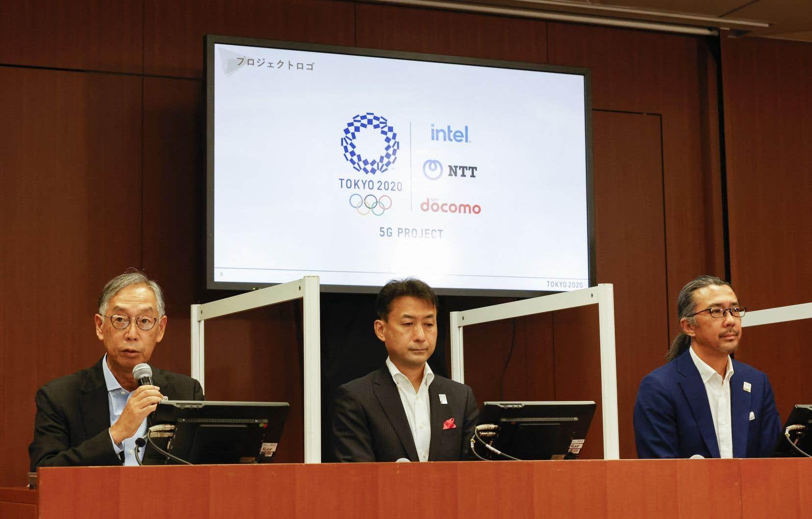 Le géant des télécommunications japonais Nippon Telegraph&Telephone (NTT) planchait depuis 2013 sur un système de projection en réalité virtuelle qui devait être mis en vedette aux Jeux.