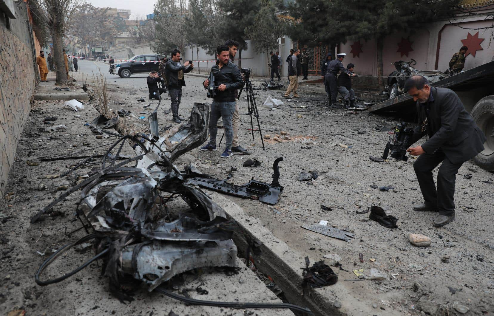 L'Afghanistan est depuis longtemps l'un des pays les plus dangereux pour les journalistes. Il est classé à la 122eplace sur 180 par Reporters sans Frontières (RSF) dans son dernier classement sur la liberté de la presse, publié en mai.