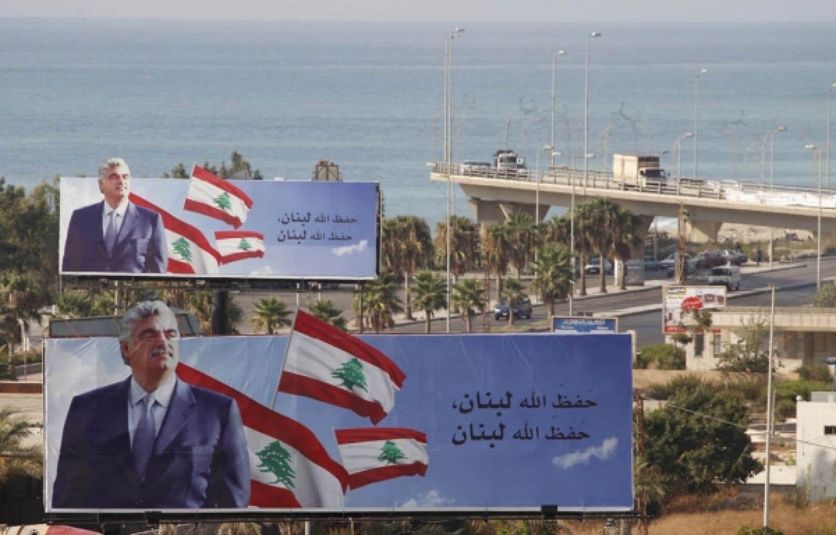 Le Hezbollah dément toute responsabilité dans l'assassinat de Rafic Hariri.<br />