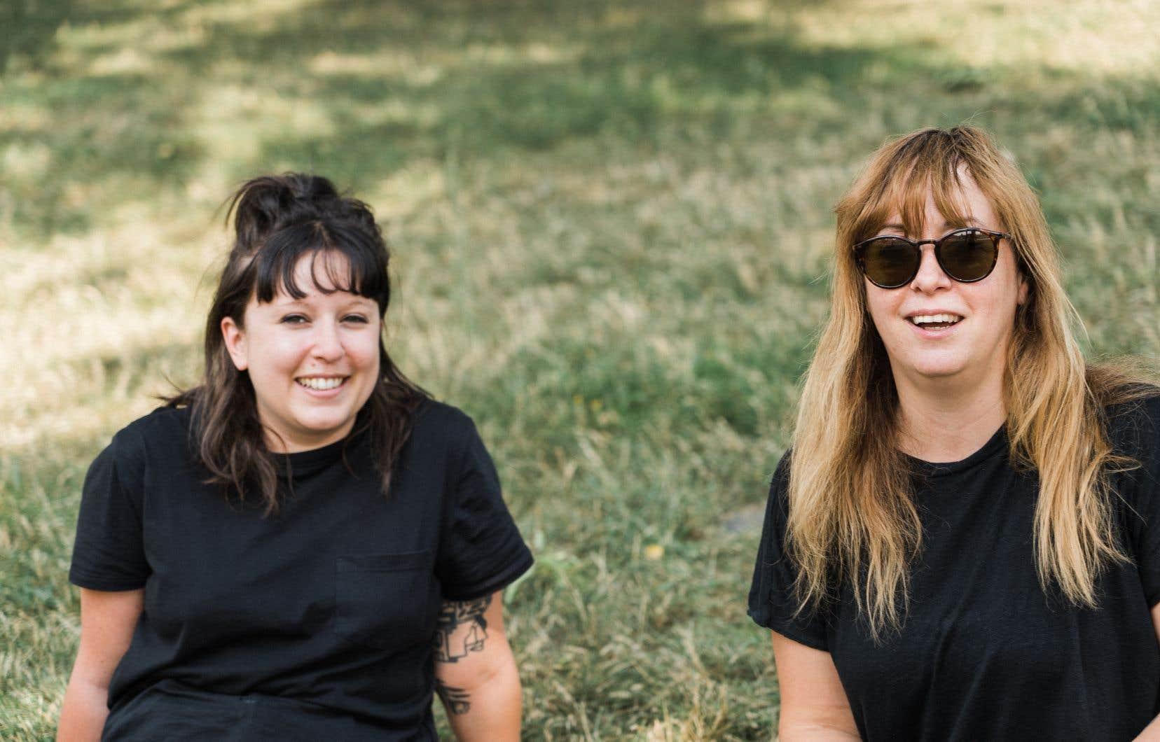 Marilyne Lacombe (à gauche) et Jenny Thibault organisent une édition spéciale du FME à Montréal ce week-end.