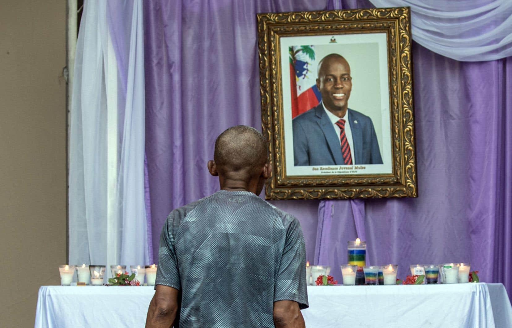 Le président Jovenel Moïse a été abattu chez lui le 7juillet dernier par un commando armé.