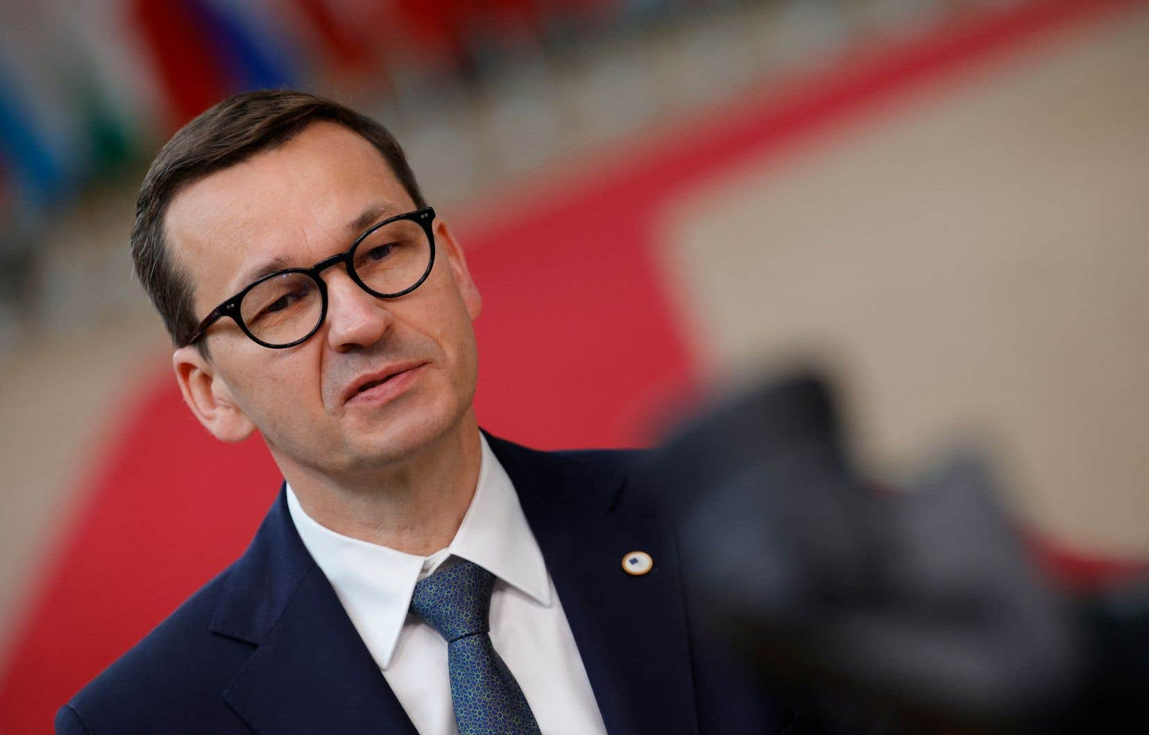 Le premier ministre polonais, Mateusz Morawiecki,