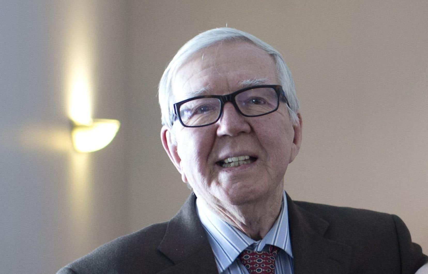 Le journaliste Guy Lamarche, qui a fait ses premiers pas dans la profession en écrivant dans les pages du «Devoir», est décédé la semaine dernière à l'âge de 86ans.