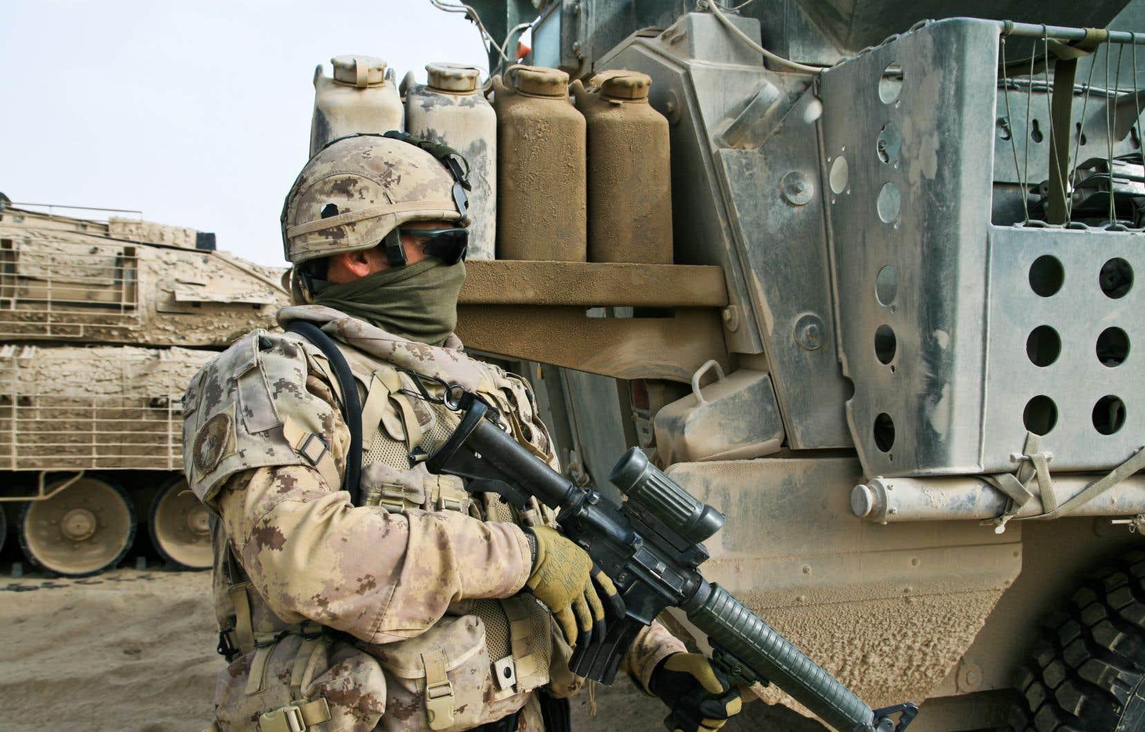 Quelque 40000 soldats canadiens ont été déployés en Afghanistan pendant 13ans dans le cadre de la mission de l'OTAN avant de se retirer en 2014.