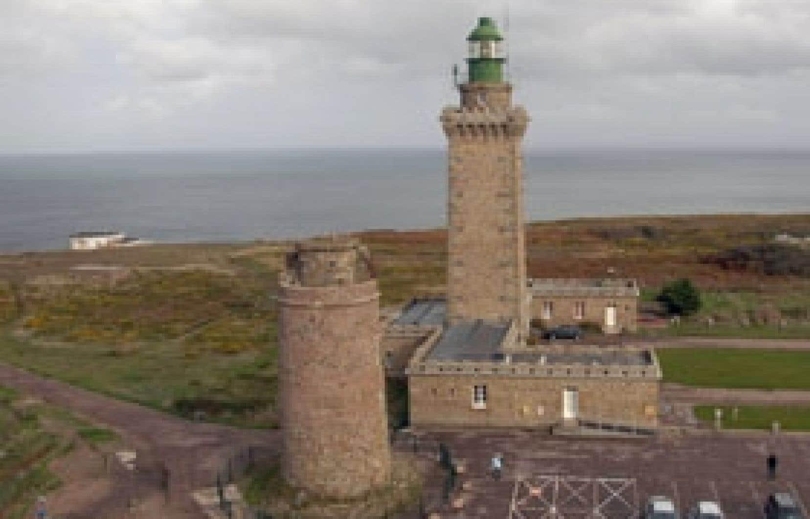 Le phare du Fréhel (Côtes d'Armor), en Bretagne.