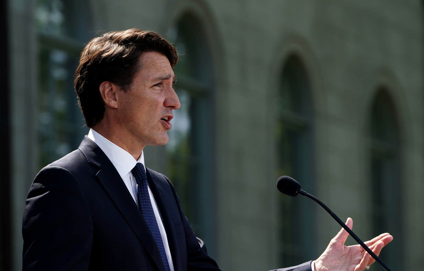 Le premier ministre a évoqué pour une première fois une justification pour lancer une campagne électorale.
