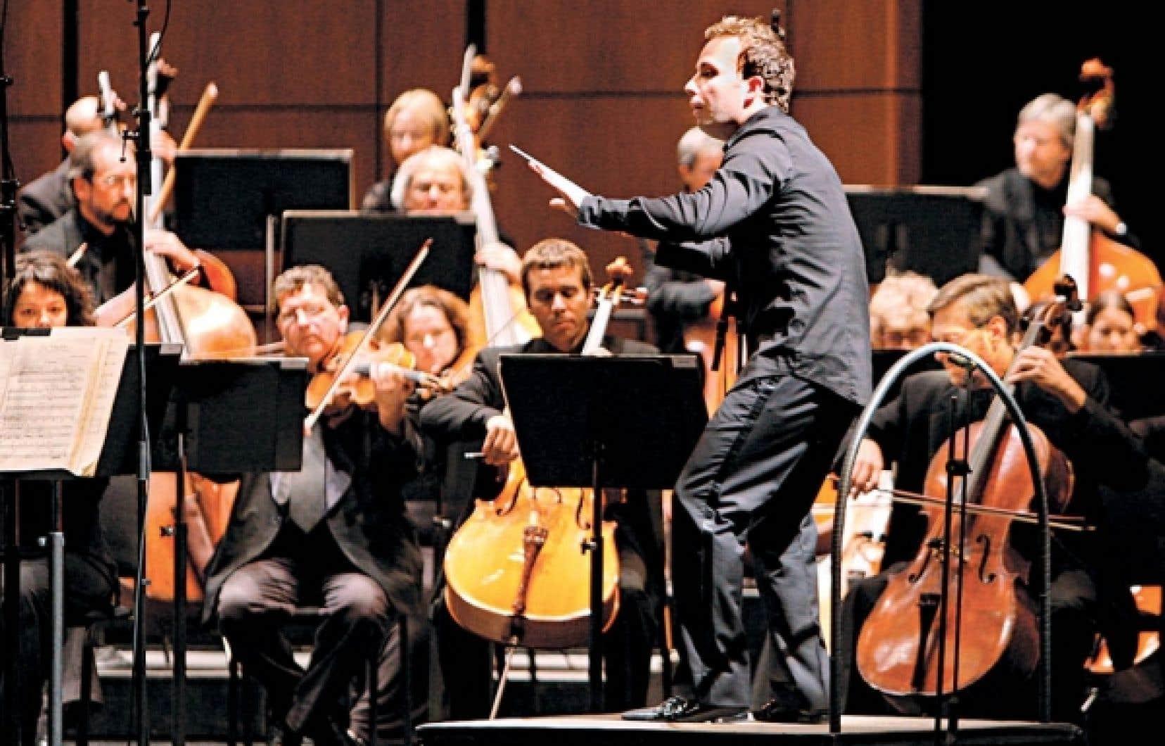 Yannick Nézet-Séguin dirigera l'Orchestre métropolitain dans la nouvelle salle de l'OSM.<br />