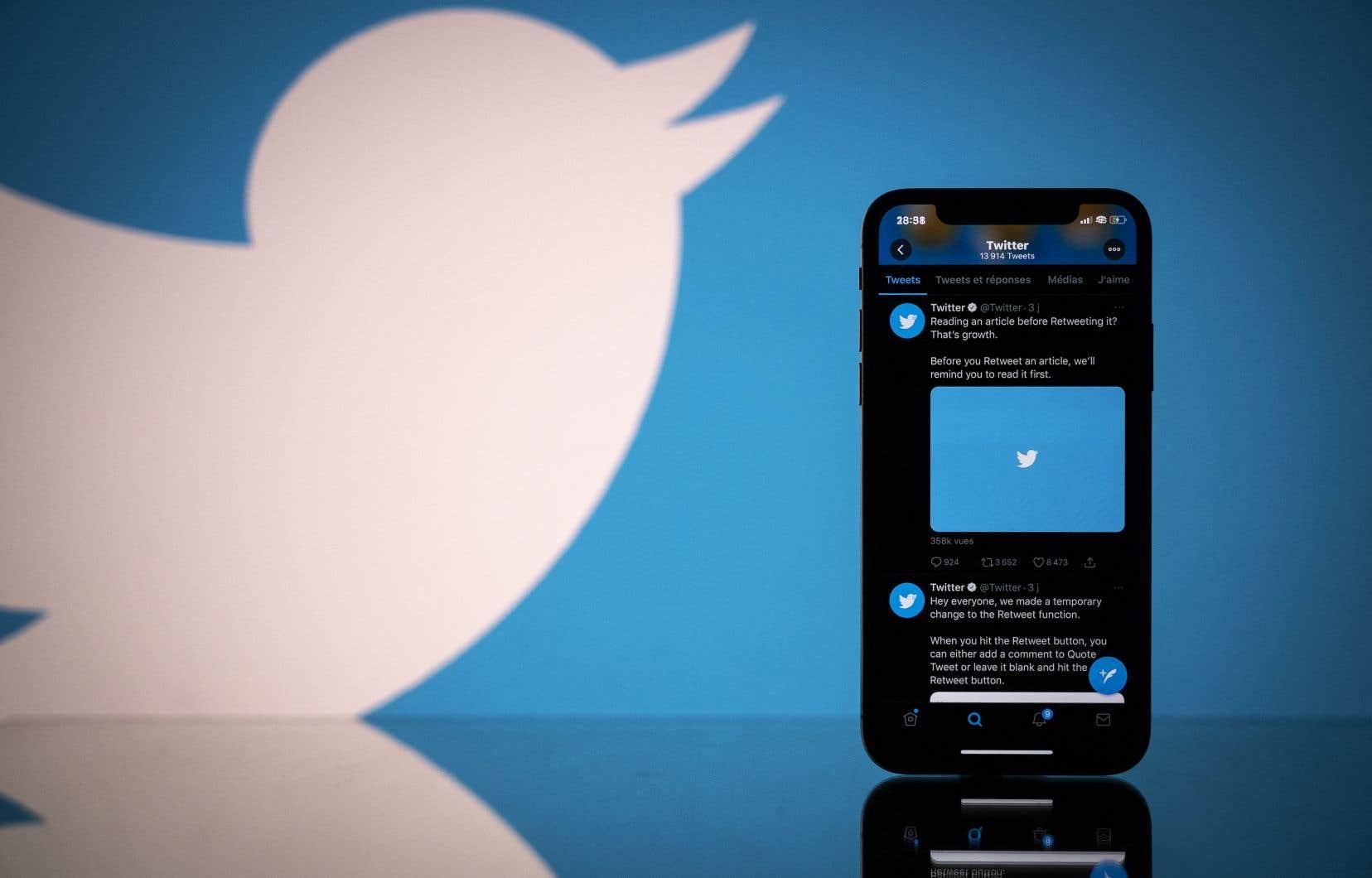 Twitter, comme Facebook et YouTube, se voit régulièrement reprocher de ne pas lutter suffisamment contre la désinformation.