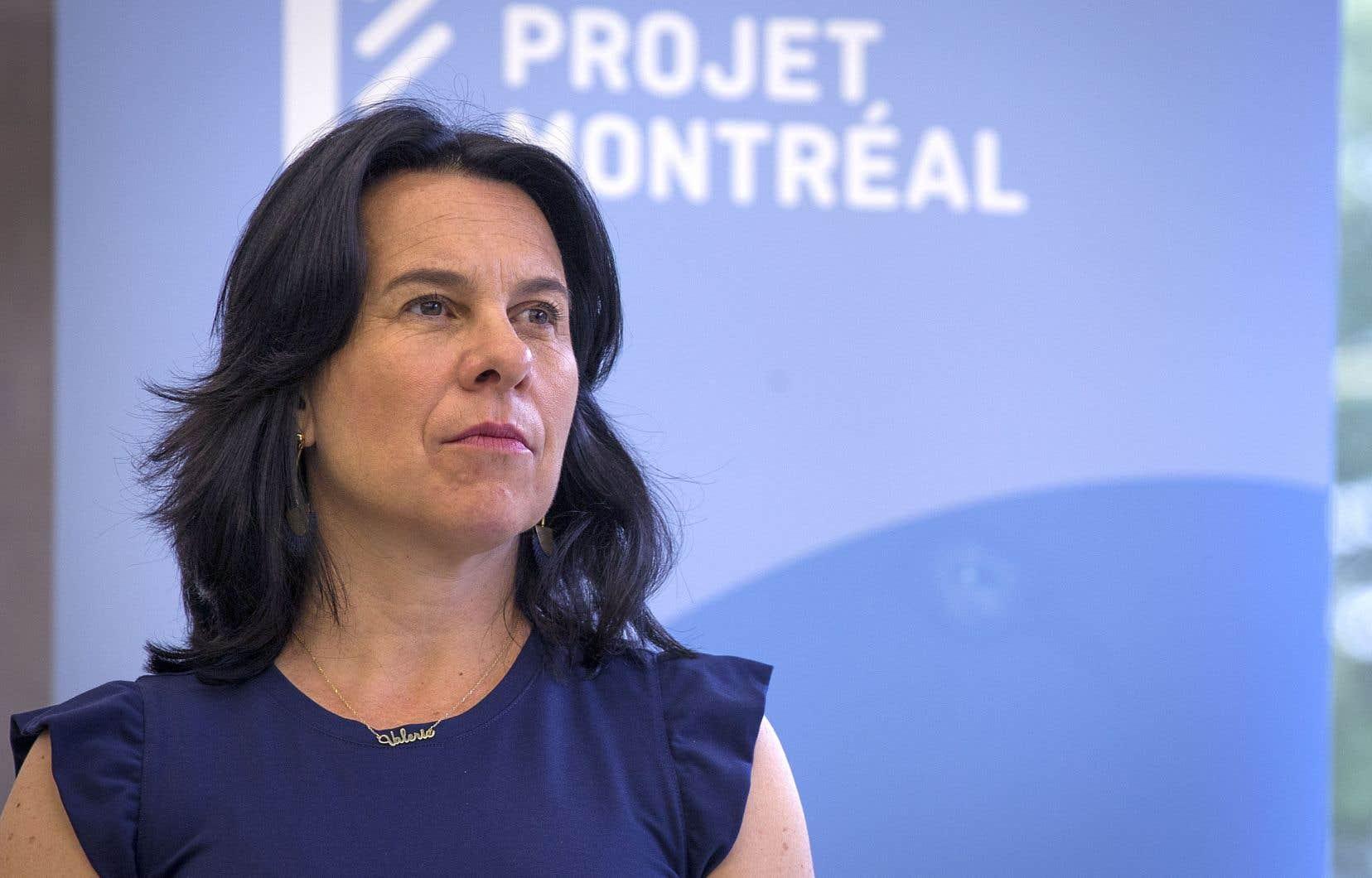 La mairesse de Montréal, Valérie plante, réitère sa confiance en son candidat à la mairie de Montréal-Nord.