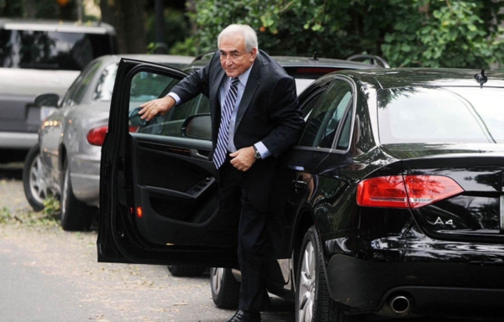 Dominique Strauss-Kahn est passé par Washington, en début de semaine, pour visiter ses anciens employés du FMI.<br />