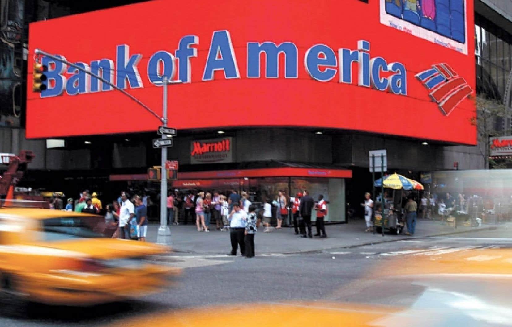 Merrill Lynch et Bank of America auraient provoqu&eacute; des pertes de 30,85 milliards.<br />