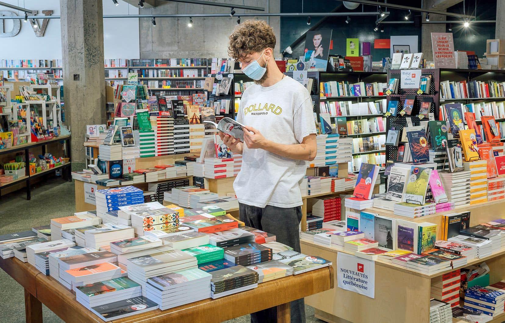 80% des livres vendus dans les librairies indépendantes le 12 août étaient des livres québécois, selon les compilations Gaspard que la Banque de titres de langue française a dévoilées jeudi.