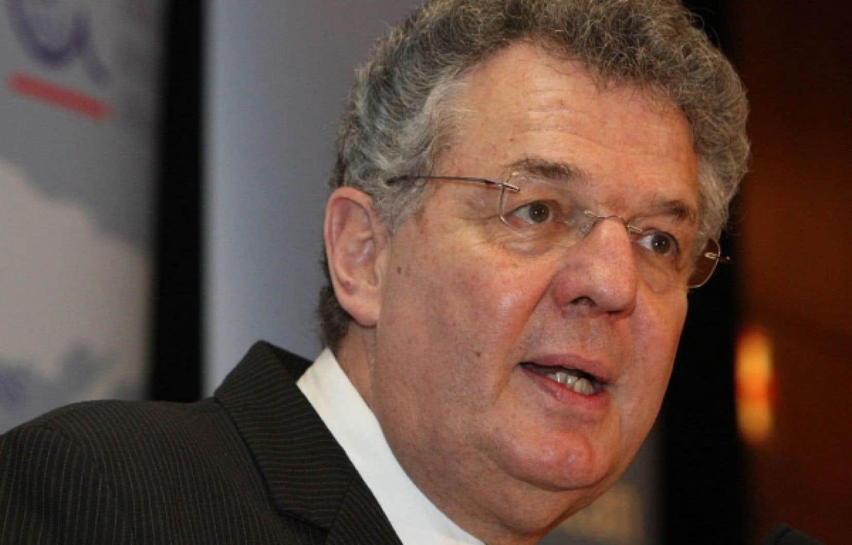 Bernard Cerquiglini, recteur de l'Agence universitaire de la Francophonie<br />