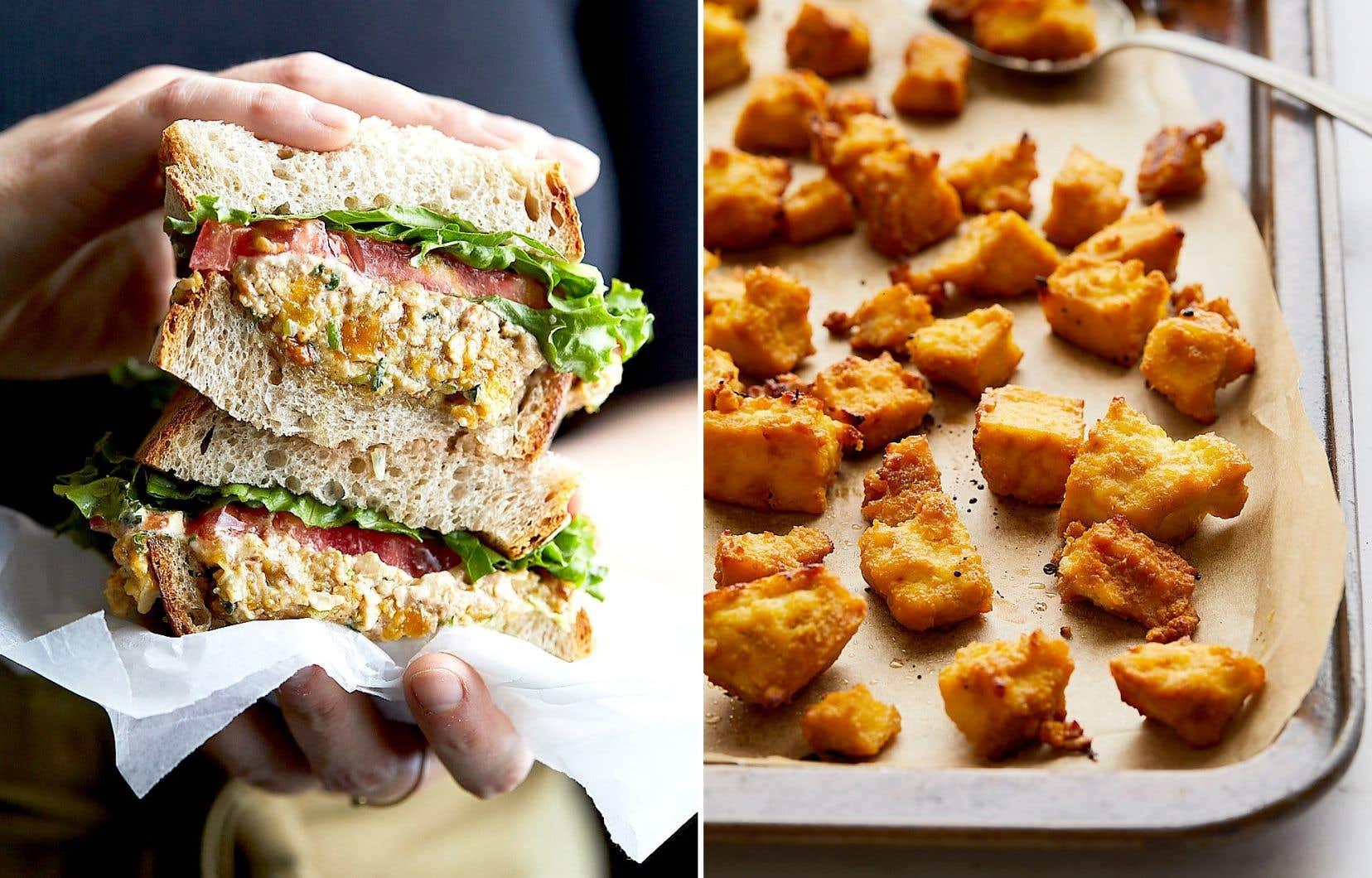 Selon Caroline Huard, son tofu magique a le pouvoir étonnant de faire aimer le tofu à tous ceux qui jurent ne pas aimer le tofu.