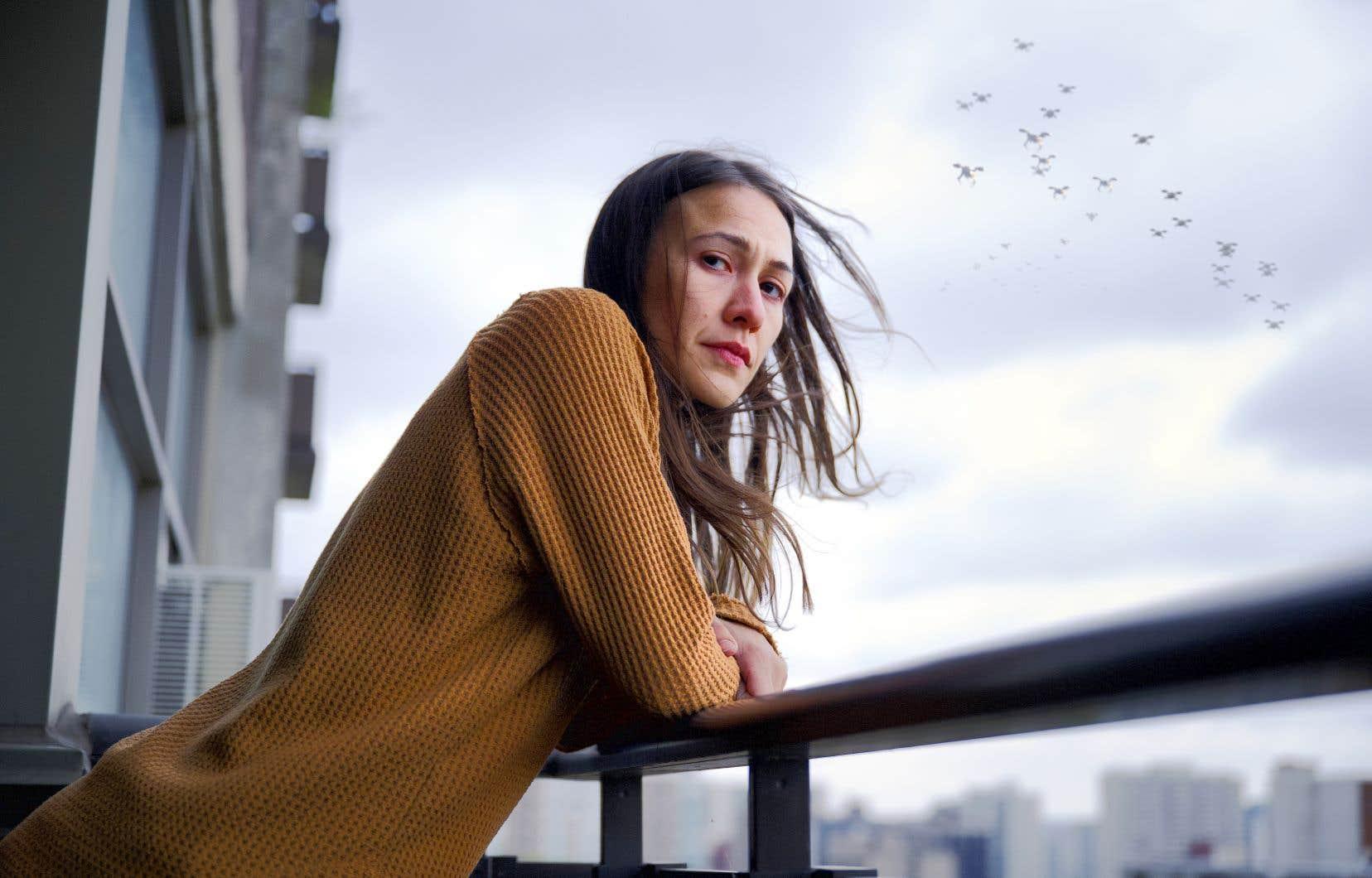 Elle-Maija Tailfeathers joue le rôle d'une mère crie essayant de retrouver sa fille dans le thriller «Night Raiders», de la Canadienne d'origine crie Danis Goulet, un des films du volet canadien à surveiller lors de cette édition.