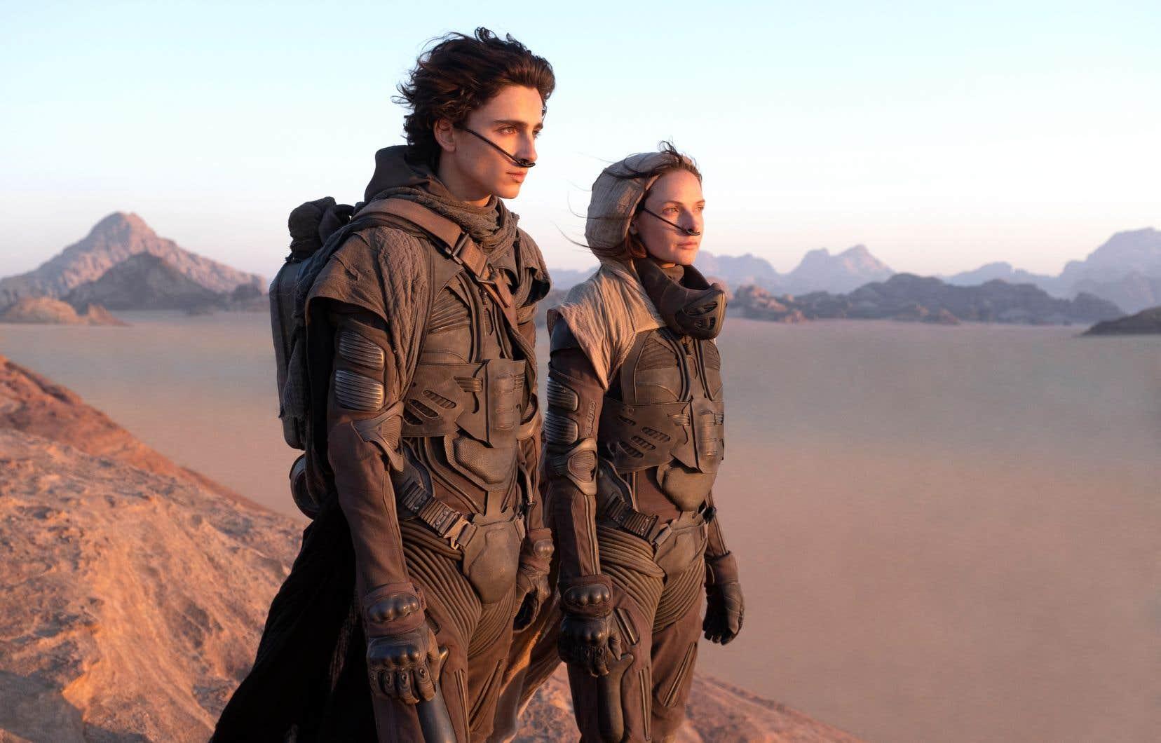 Une scène du film «Dune»
