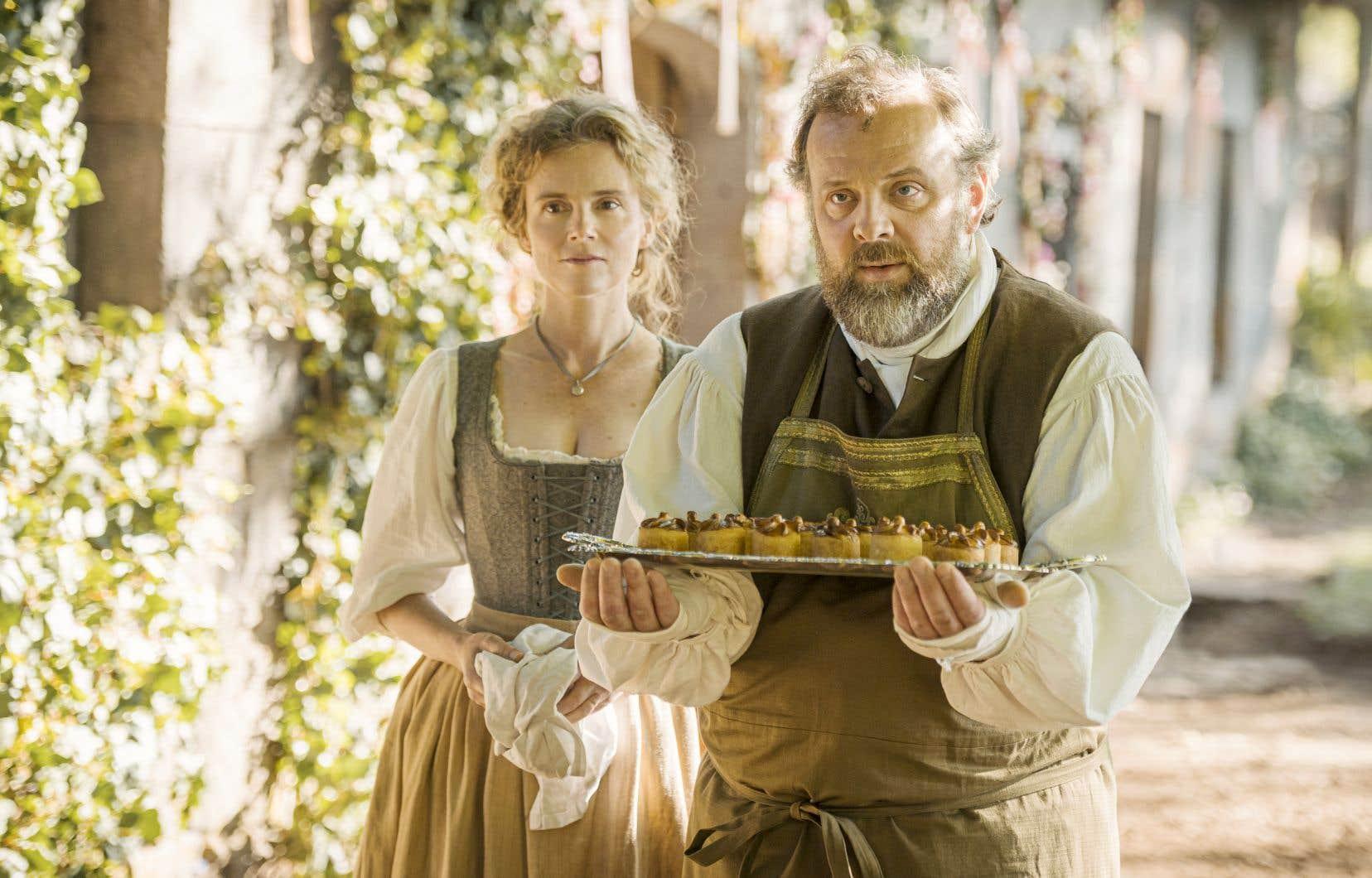 Isabelle Carré et Grégory Gadebois dans «Délicieux»