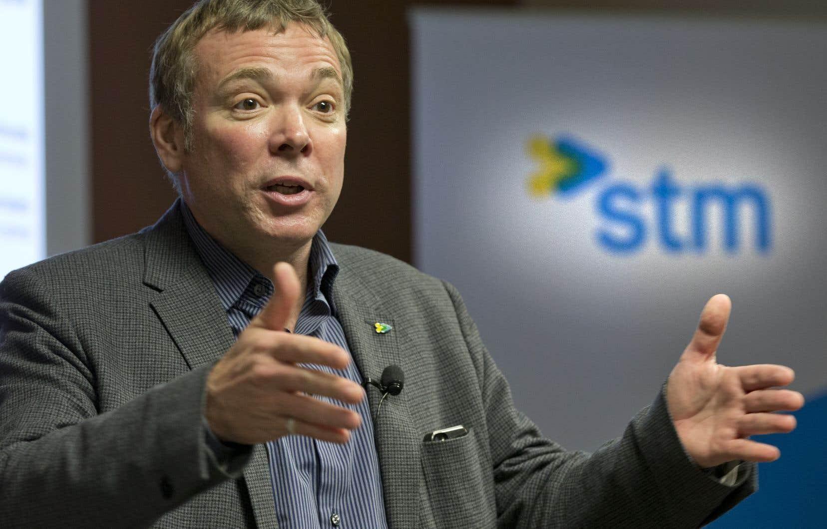 Journaliste pendant 27ans à Radio-Canada, Philippe Schnobb s'était lancé dans l'arène politique en 2013, avant d'êtrenommé à la tête de la STM par Denis Coderre.