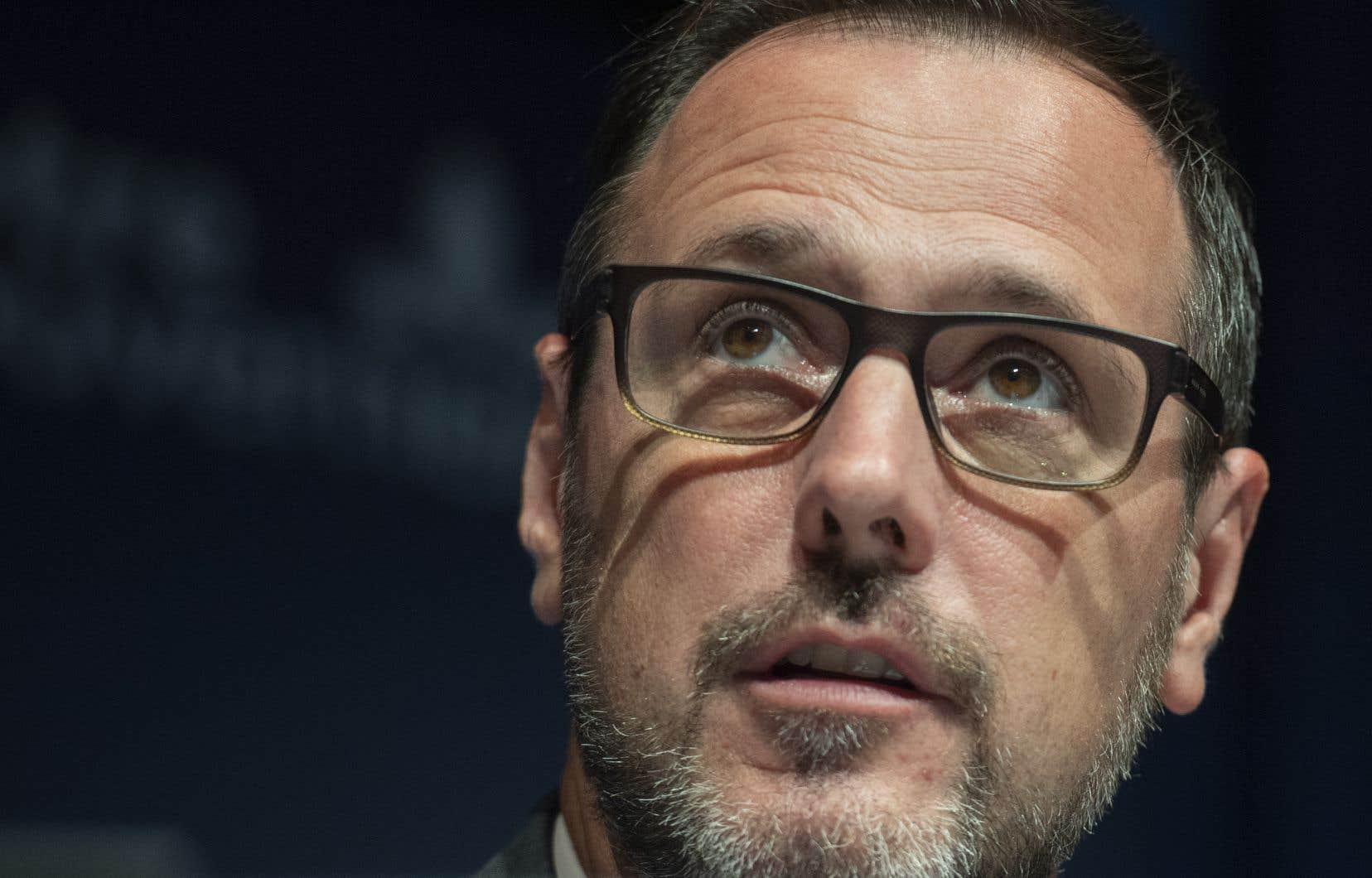 Jean-François Roberge s'est dit «scandalisé» sur les réseaux sociaux «par ces manifestants qui ont instrumentalisé le décès tragique d'une jeune fille pour alimenter la désinformation».