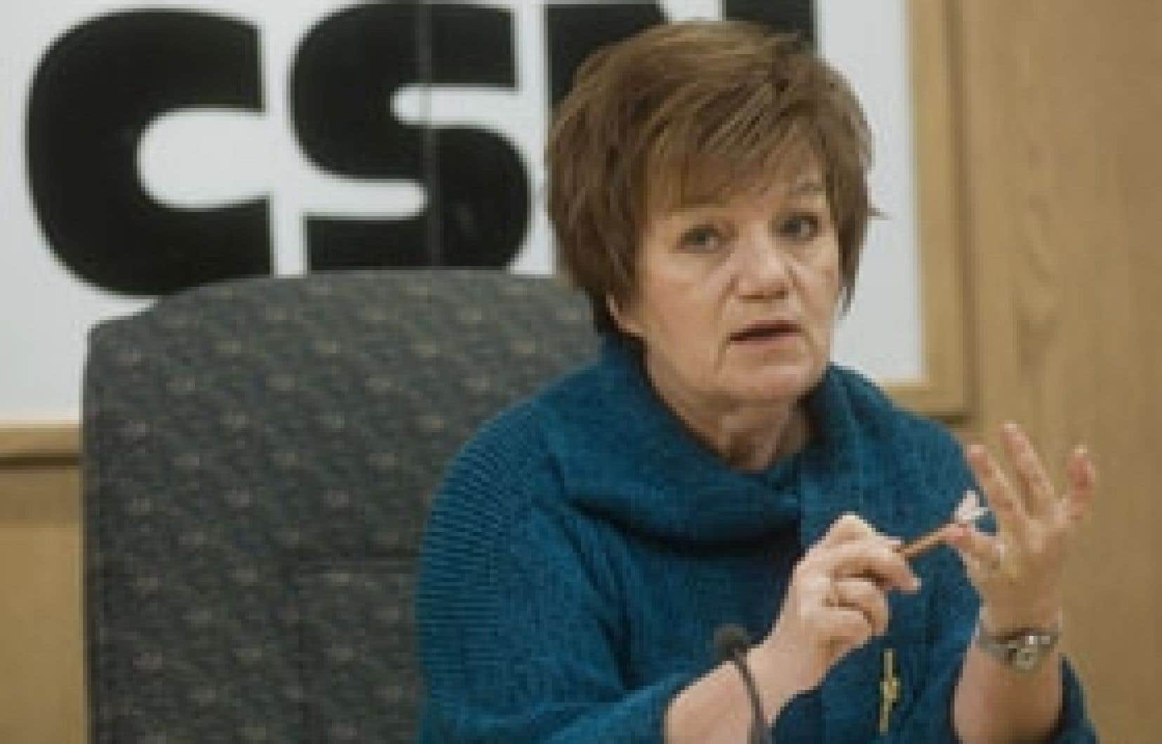 D'après Claudette Carbonneau, le rapport Castonguay est loin d'être relégué aux oubliettes, comme plusieurs l'ont dit.