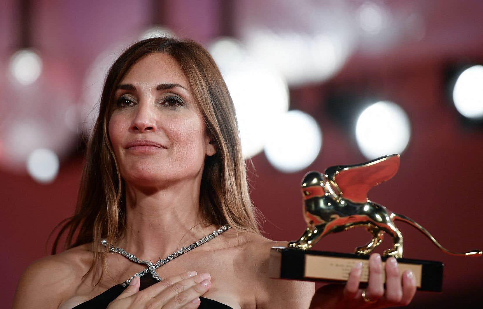 «Quelque chose est en train de changer. Une femme a gagné l'Oscar, une femme a gagné la Palme d'or, une femme a gagné le Lion d'Or. Ça signifie forcément quelque chose, ça ne peut pas être le hasard», a souligné Audrey Diwan.