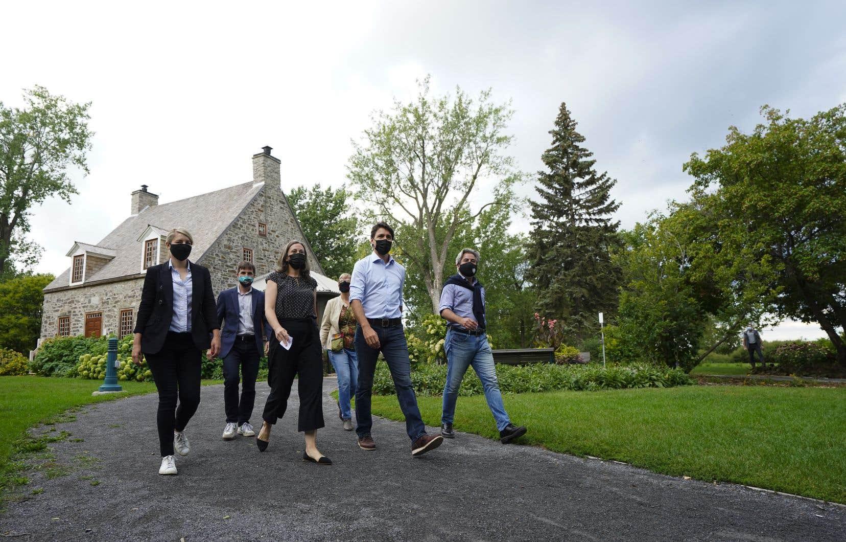 Trudeau s'en prend à O'Toole, ignore presque complètement Blanchet