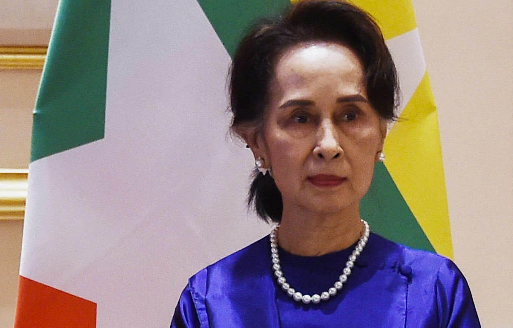 L'ex-dirigeante birmaneAung San Suu Kyi a été destituée en février dernier lors d'un coup d'État de l'armée.