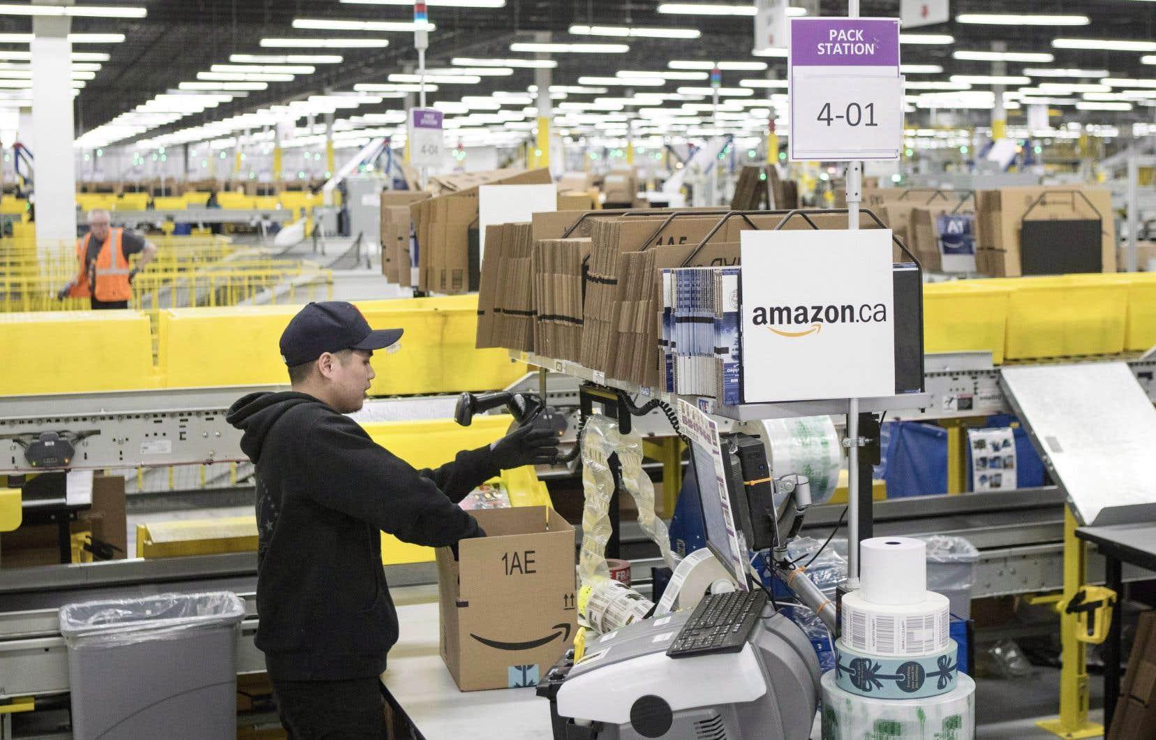 Amazon Canada compte actuellement 25000 employés à temps plein et à temps partiel dans 25 communautés réparties dans cinq provinces.