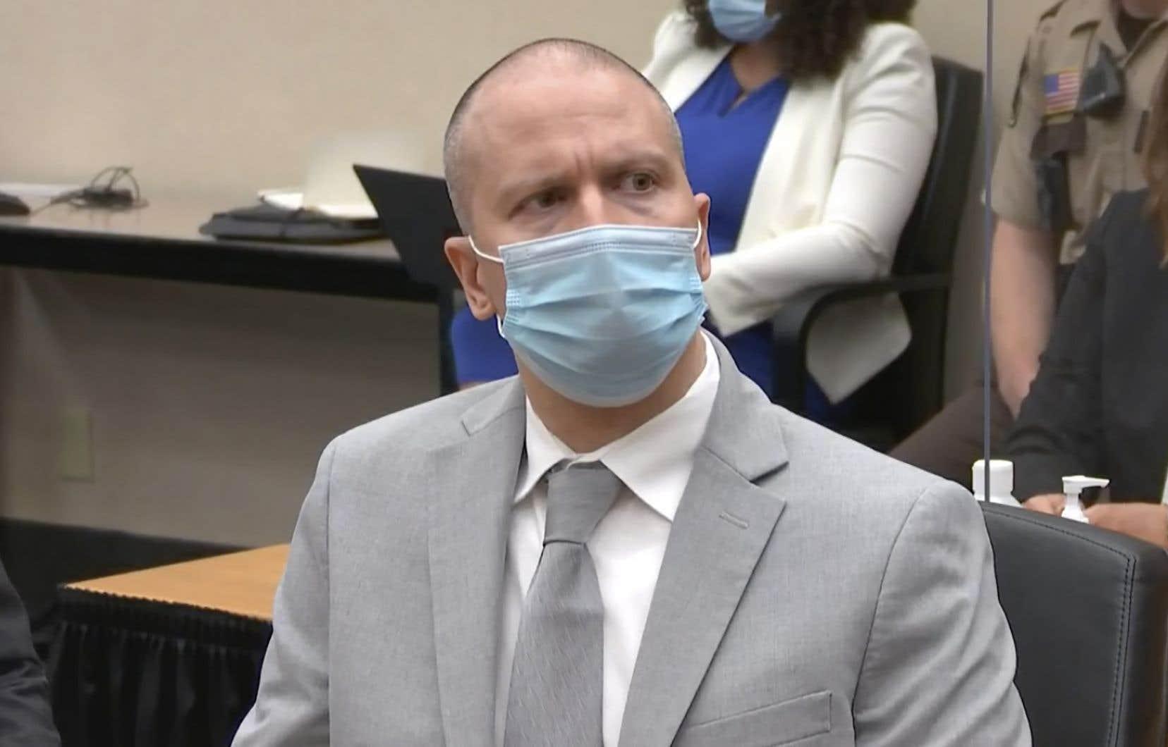 L'ex-policier purge déjà une peine de 22 ans et demi de prison pour le meurtre de George Floyd.