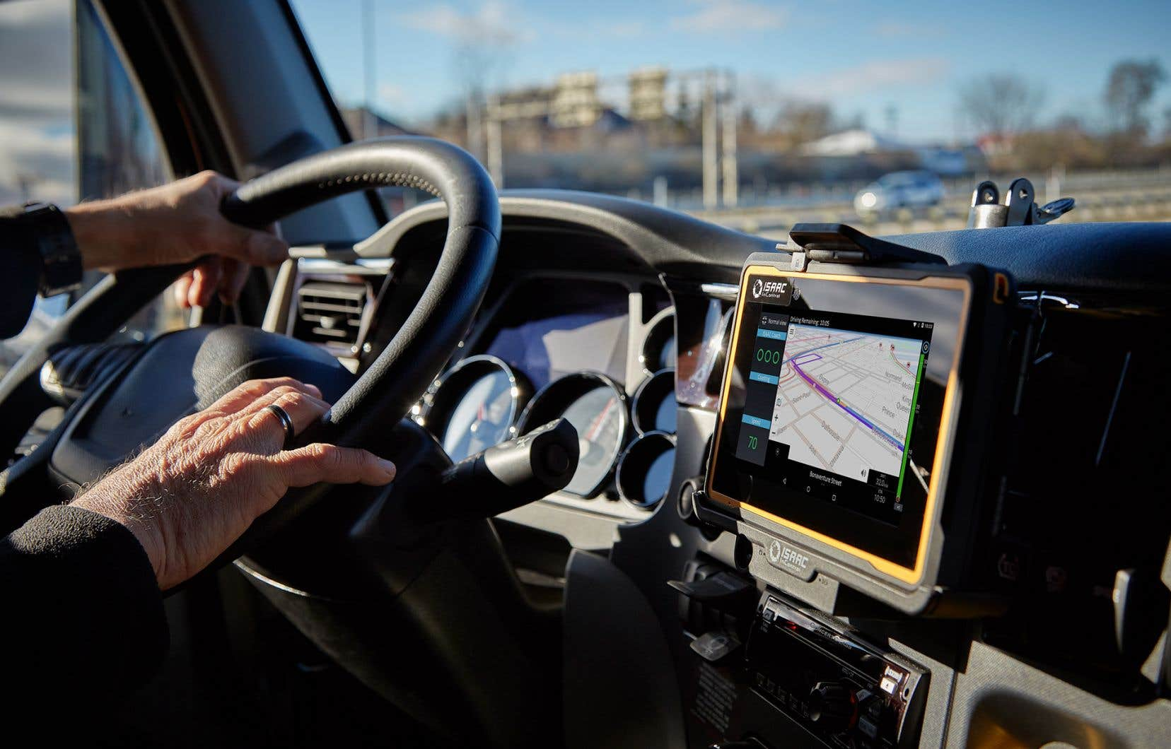 Les camions de transport sont désormais équipés de technologies permettant de récolter des données dans le but d'optimiser les performances et de réduire les dépenses en carburant.