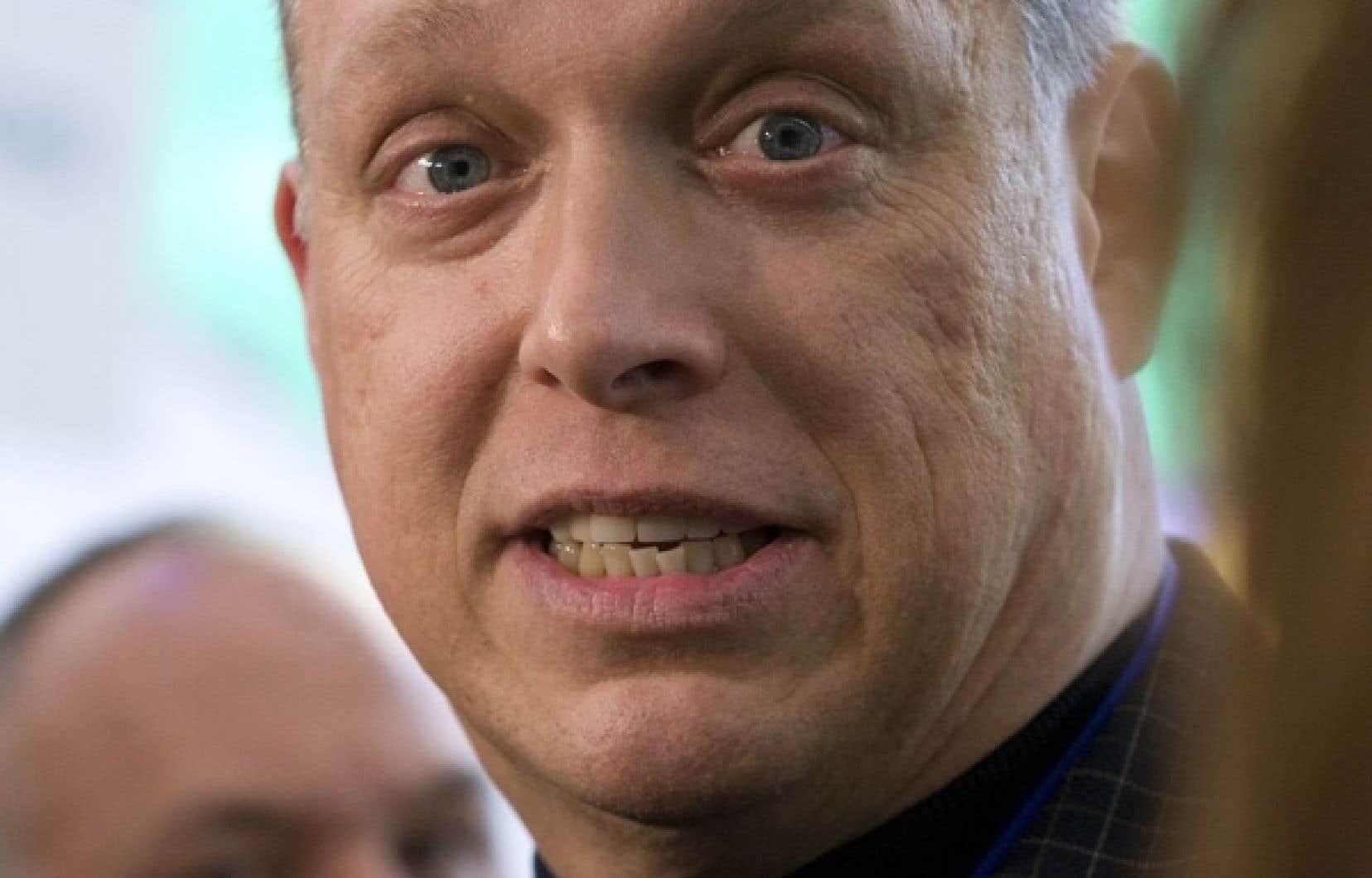 Stéphane Bergeron, député du Parti québécois