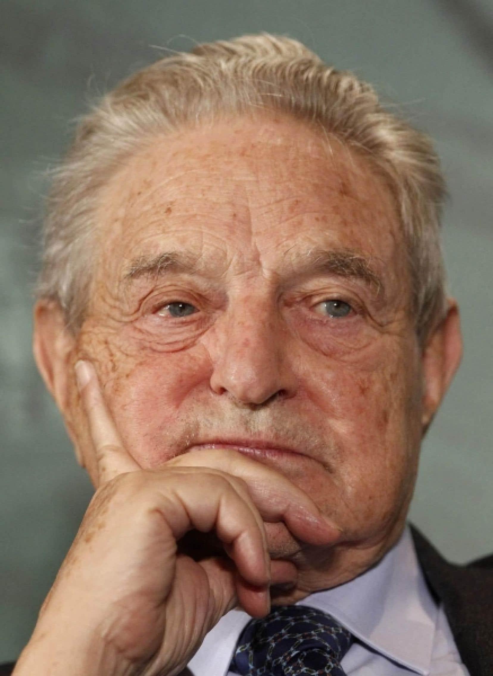 &laquo;J&rsquo;ai de la sympathie pour leurs opinions&raquo;, dit George Soros<br />
