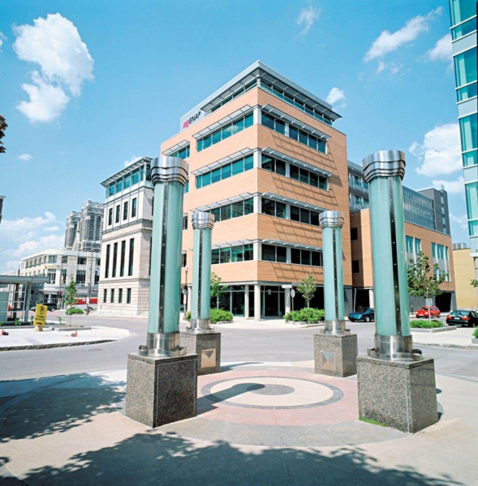 Le siège social de l'ÉNAP à Québec<br />