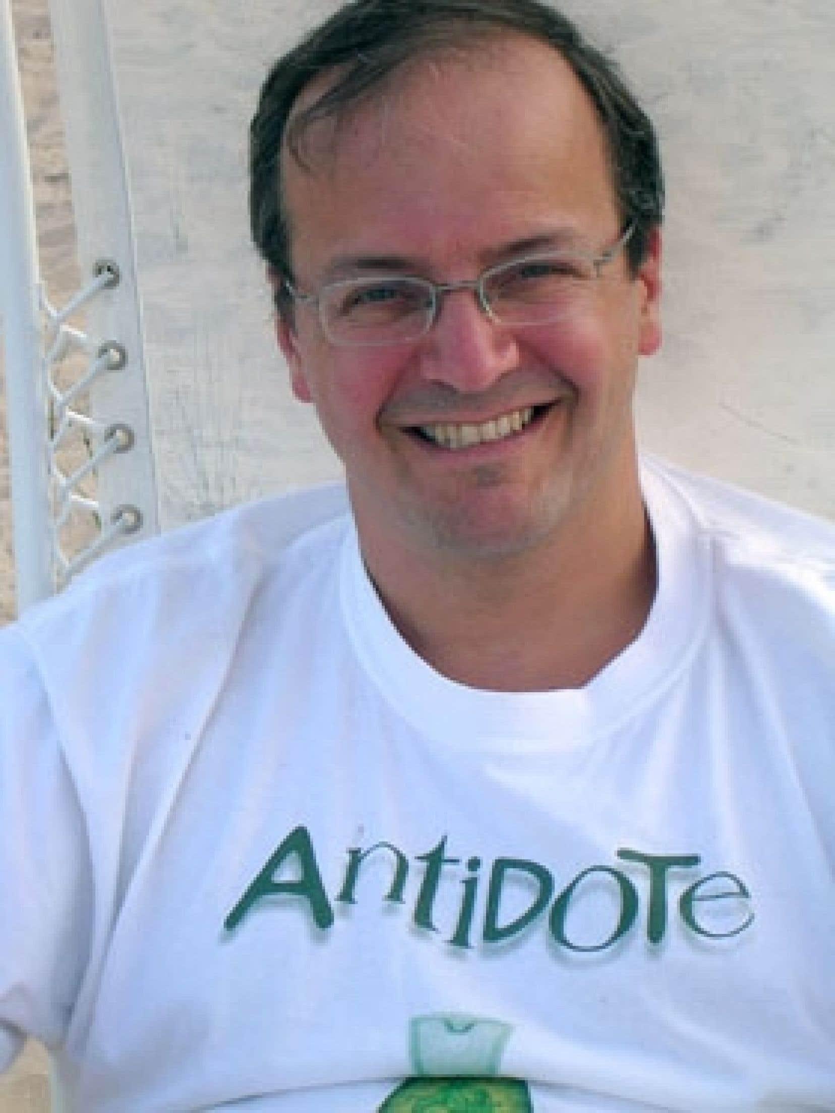 Éric Brunelle, président de Druide, est aussi le concepteur principal d'Antidote.