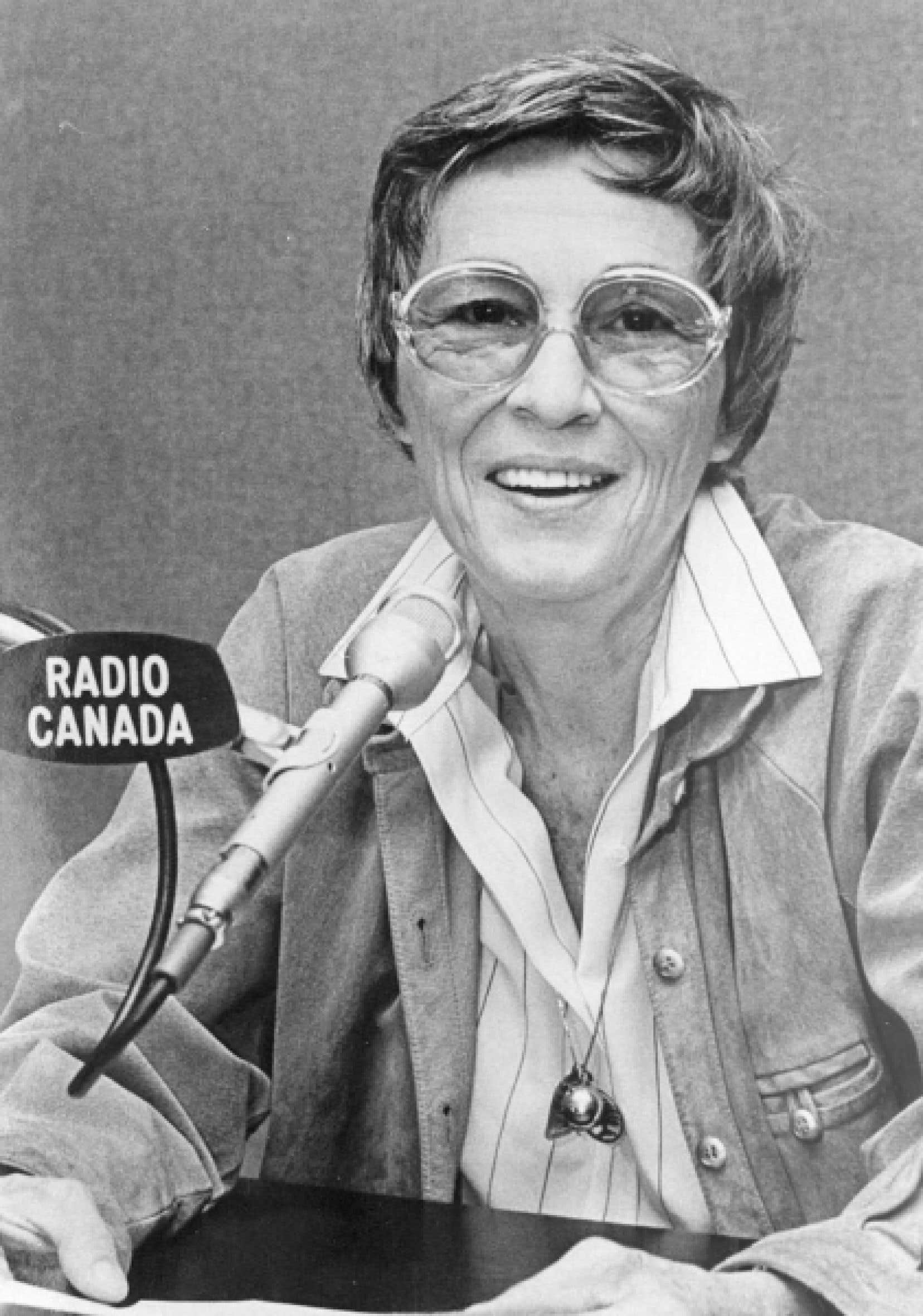 Andr&eacute;anne Lafond a travaill&eacute; trois d&eacute;cennies &agrave; Radio-Canada.<br />