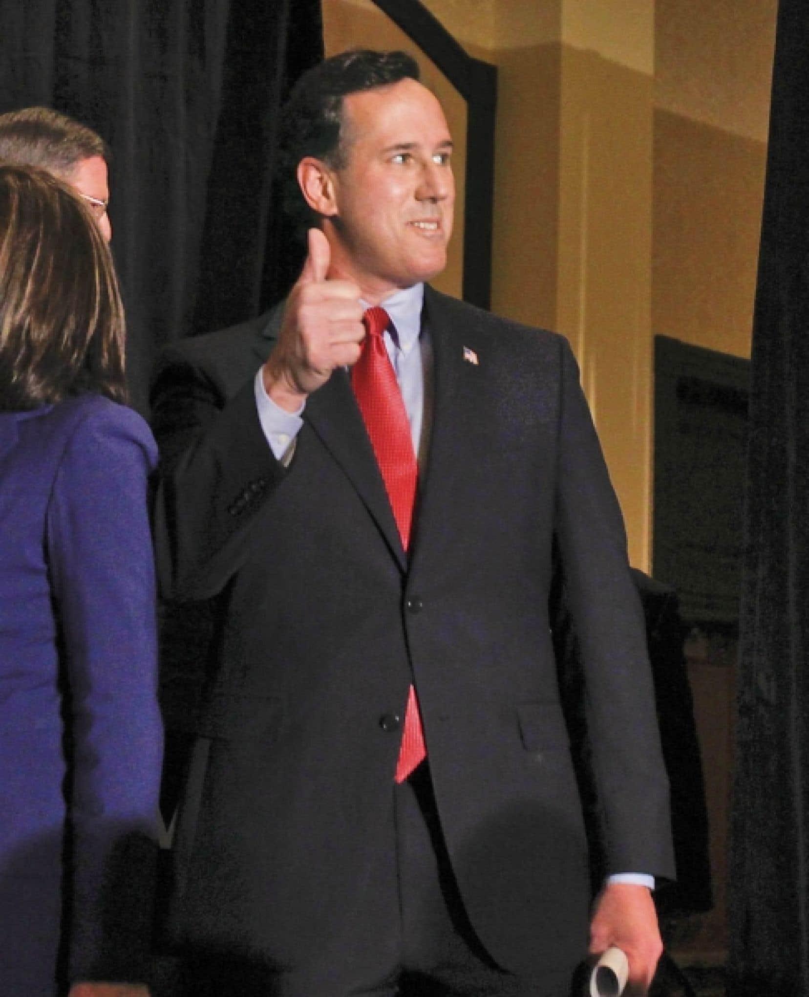 Les victoires de Rick Santorum cette semaine dans le Missouri, le Minnesota et le Colorado souligne le virage ultraconservateur des républicains.<br />