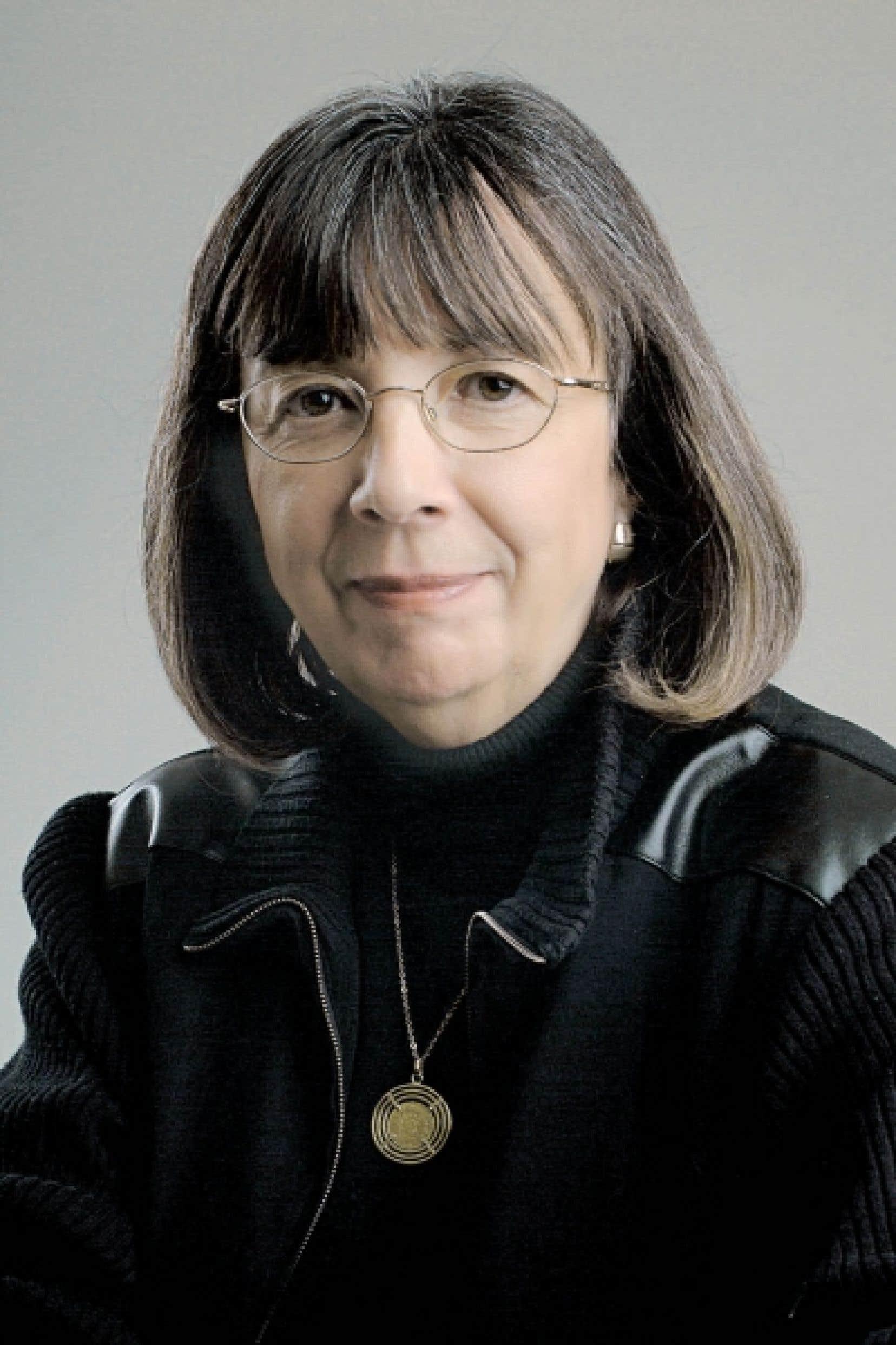 La présidente de l'organisation Un héritage à partager, Lucille Grimard<br />