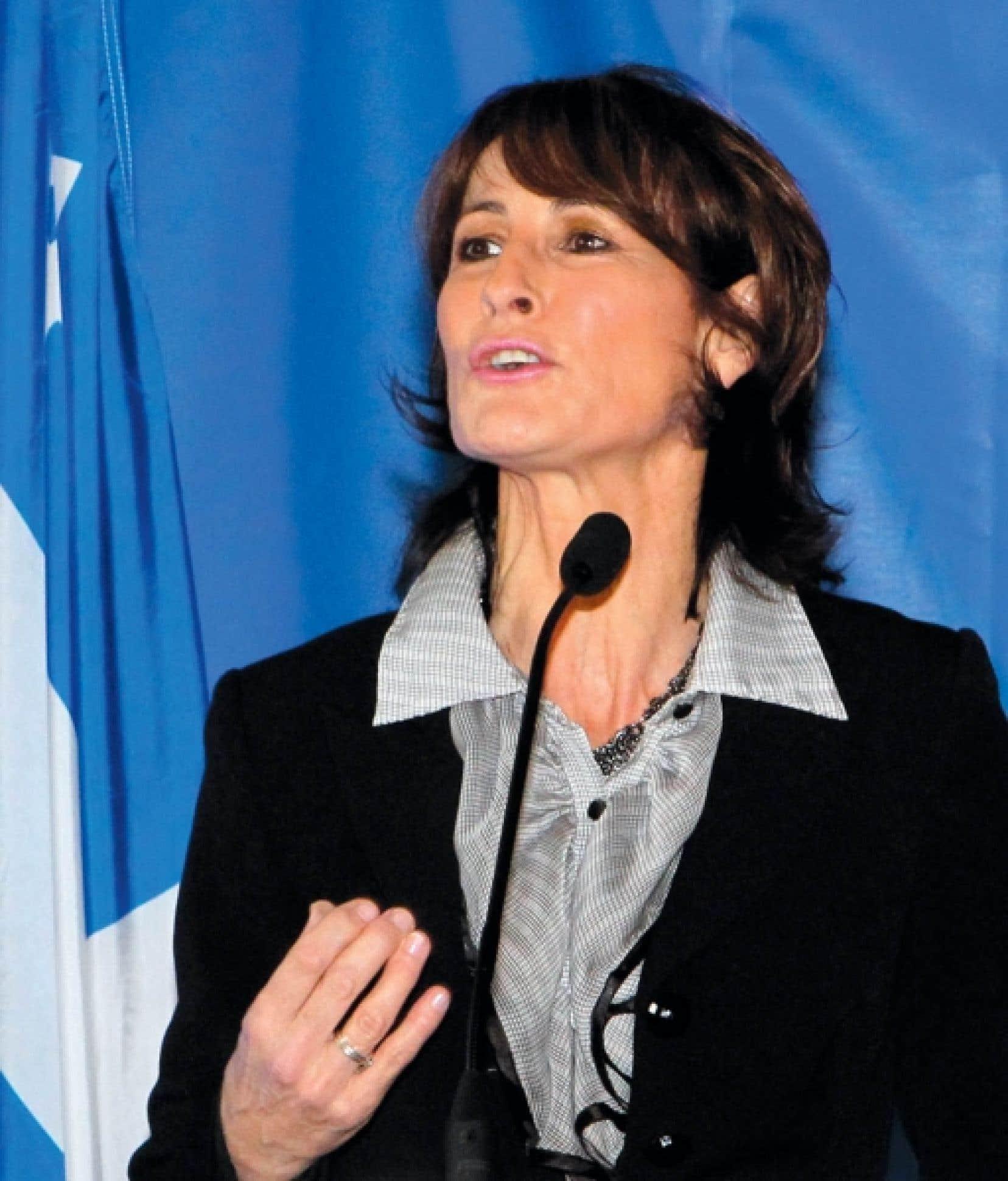 La ministre Kathleen Weil