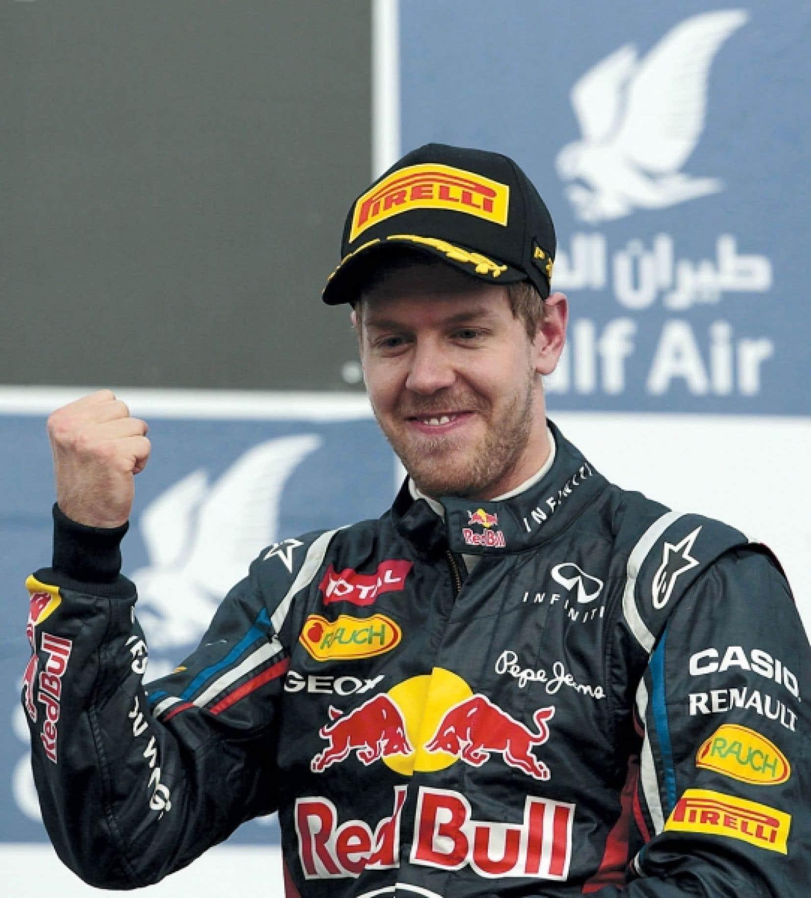 Sebastian Vettel, intouchable hier au Grand Prix de Bahreïn.