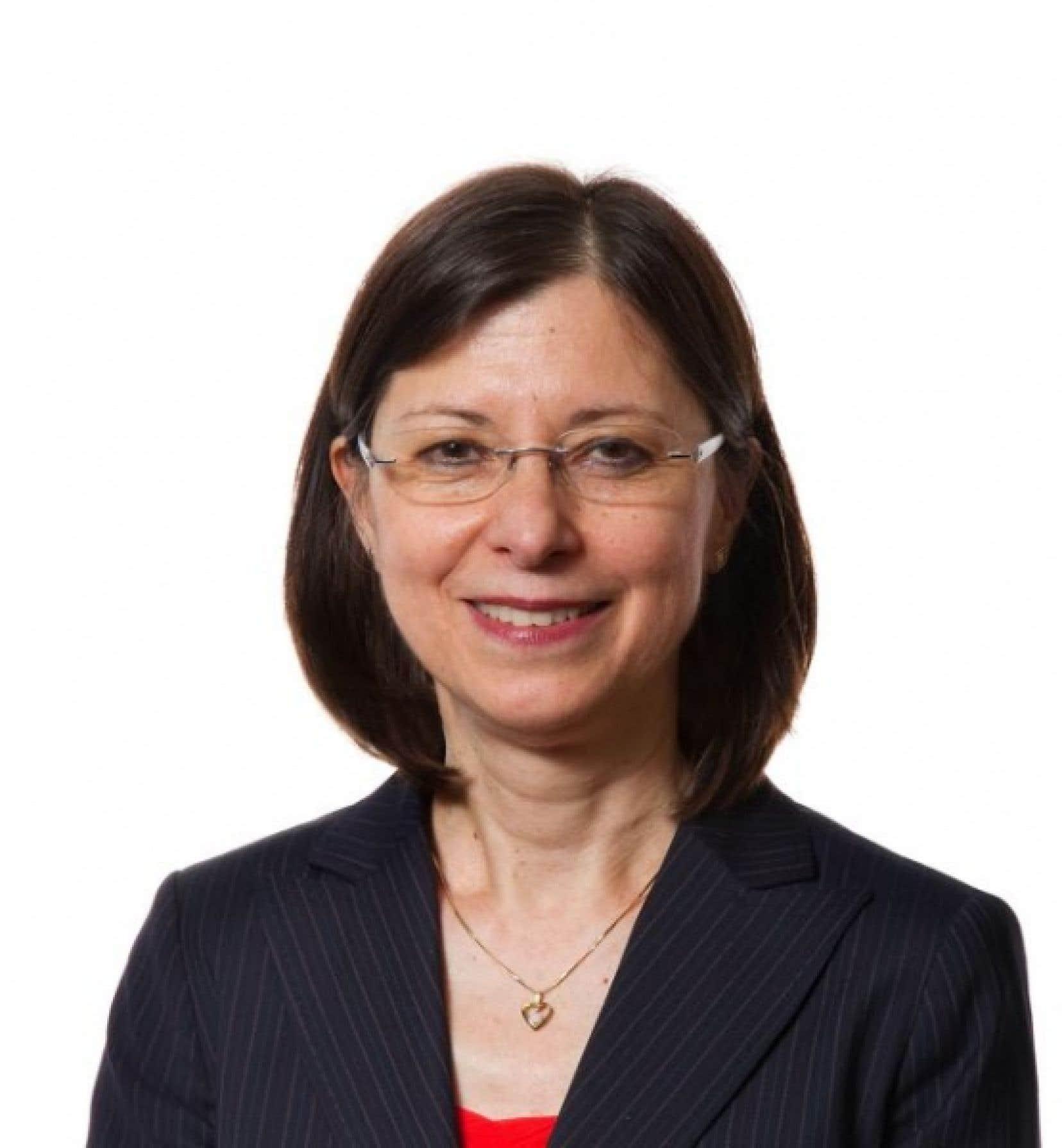 Danielle McCann, la nouvelle pdg de l&#39;Agence de la sant&eacute; et des services sociaux de Montr&eacute;al. <br />