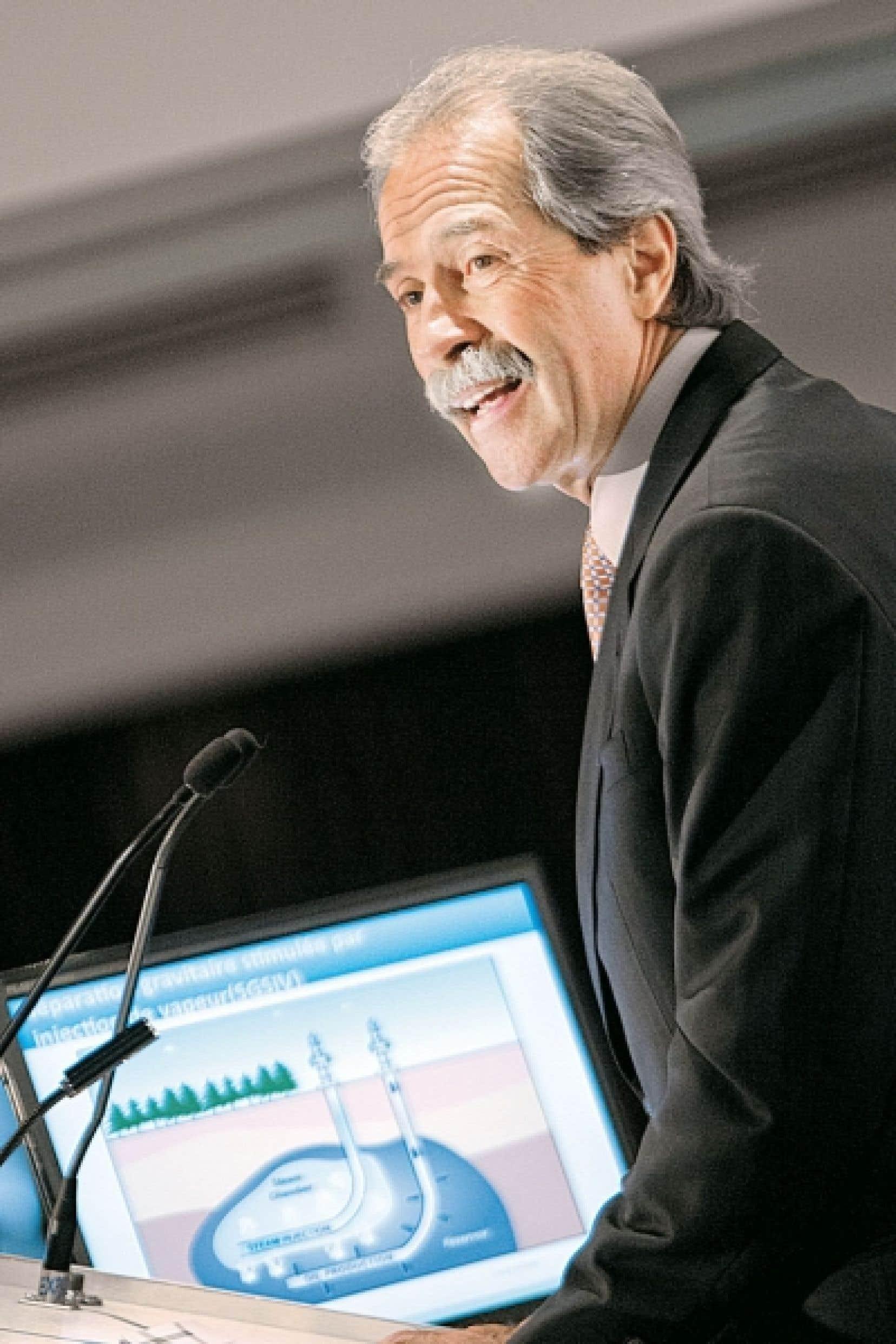 Marcel Coutu: « D'un point de vue national, je considère qu'on devrait consommer notre pétrole. »