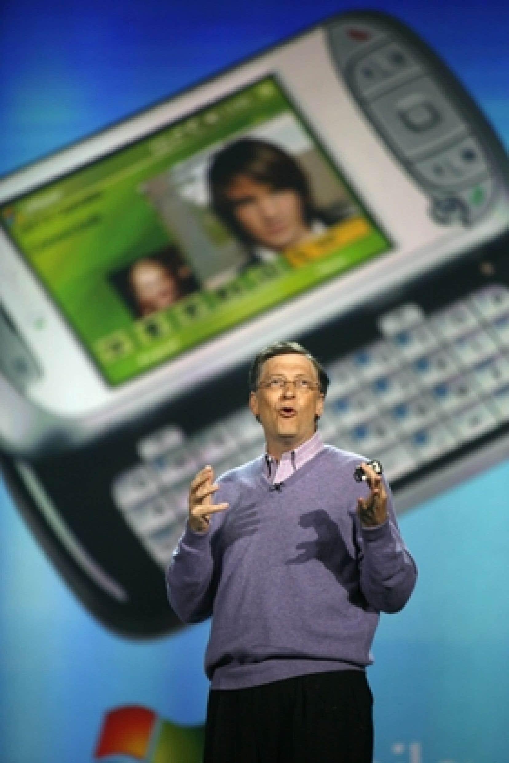 Bill Gates a prononcé dimanche soir ce qui devrait être son dernier discours inaugural du Consumer Electronics Show de Las Vegas. Le cofondateur de Microsoft quittera en effet en juillet prochain son poste de directeur technique de Microsoft pour se co