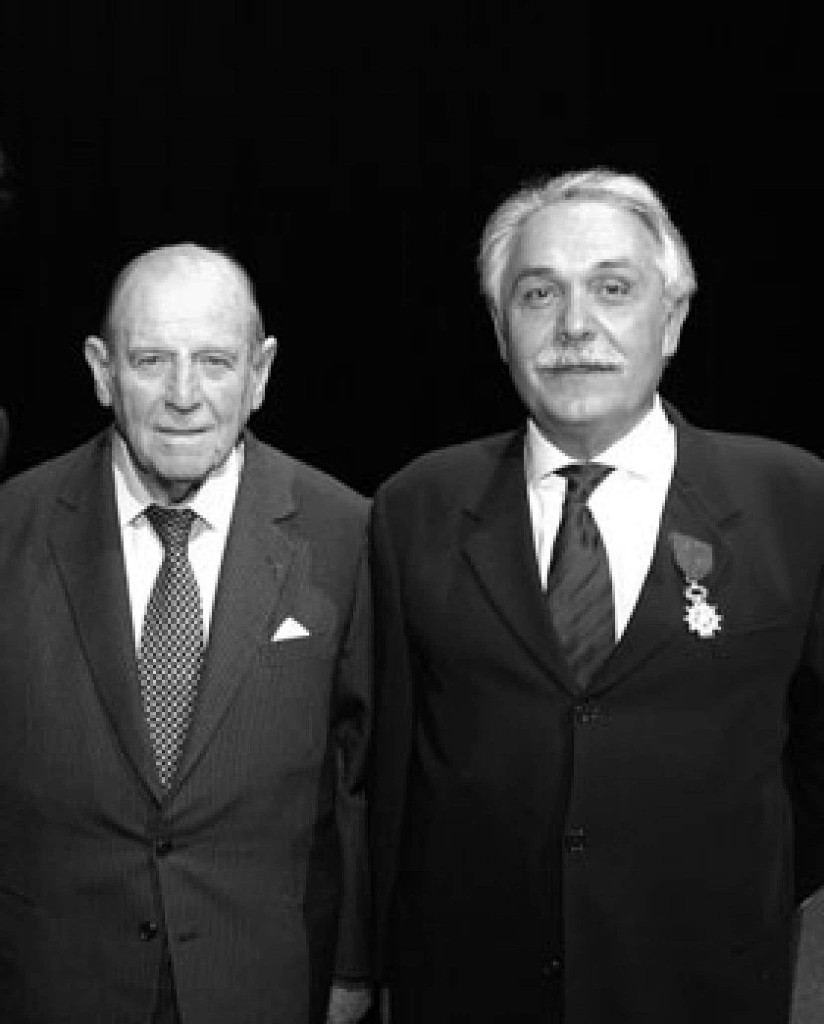 Ami et mentor de longue date, l'ancien premier ministre Raymond Barre, décédé en août dernier, a influencé de manière décisive la vie d'Alain Bideau, directeur et fondateur du Centre Jacques Cartier. Photo: Centre Jacques Cartier