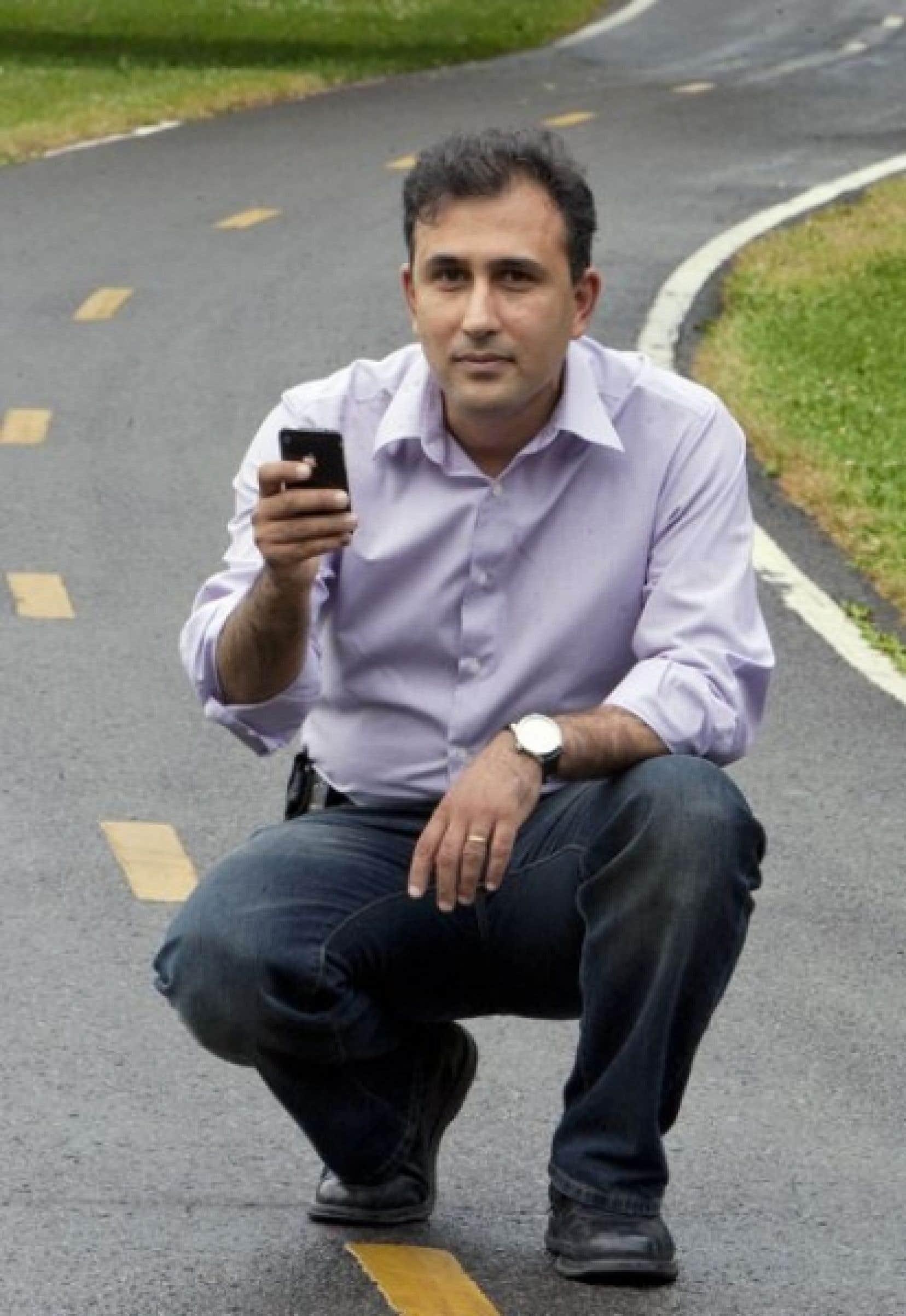 Parler pour convaincre. Parler pour informer. Parler pour faire avancer les choses. Hossein Jamali dit aimer tout ça.