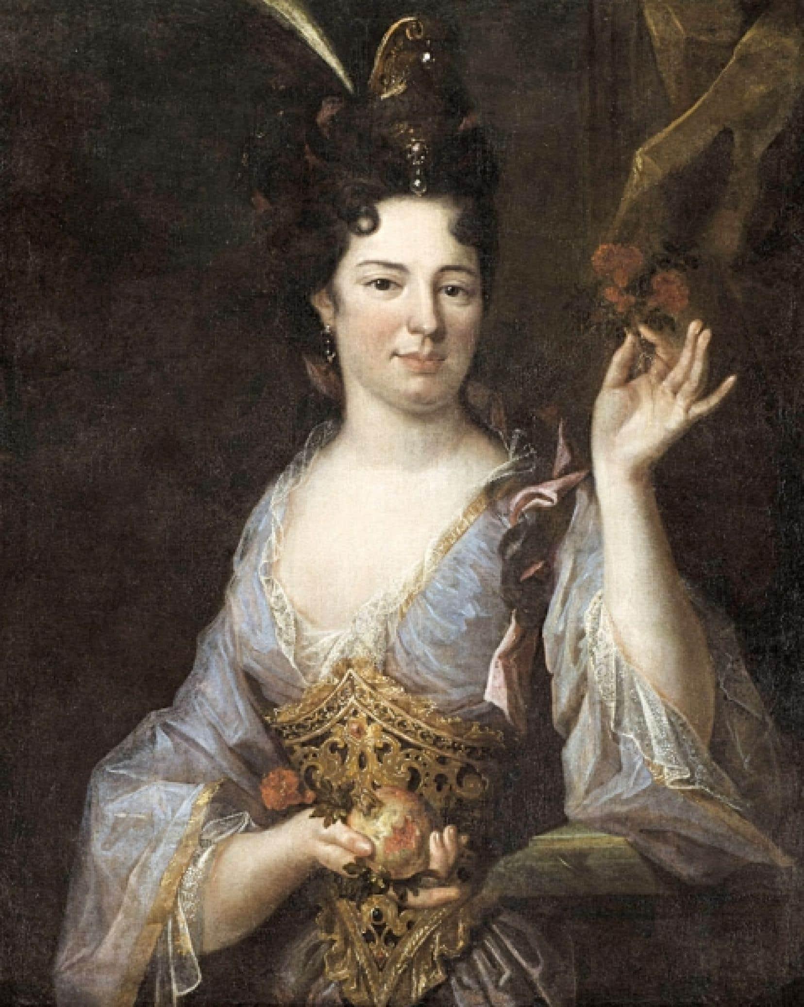 <div> Madame Charles Le Moyne de Longueuil, née Claude-Élisabeth Souart d'Adoncourt, 1681. Peintre français non identifié. Huile sur toile. Musée McCord.</div>